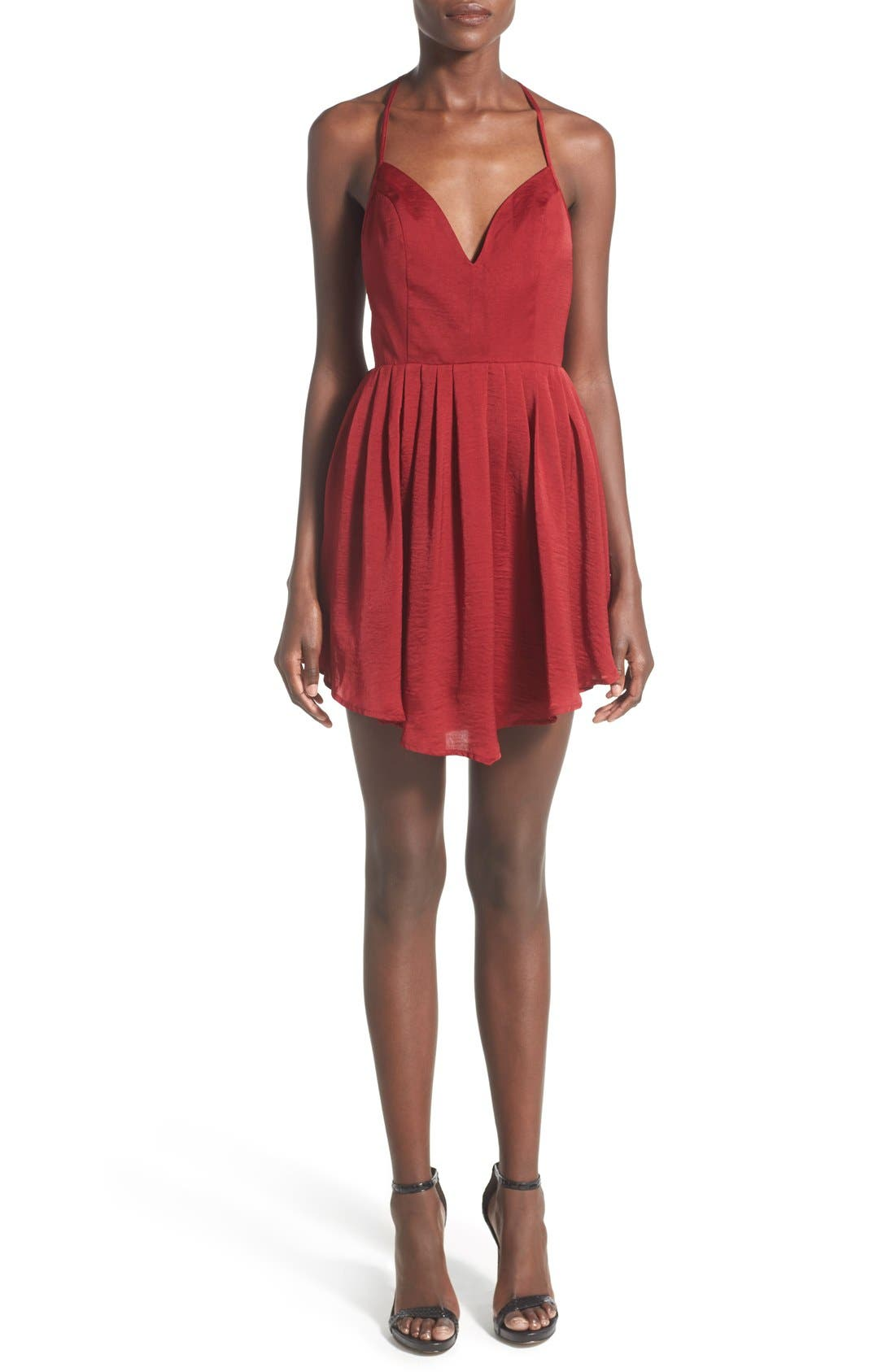 Alternate Image 1 Selected - NBD 'Party Girl' Fit & Flare Dress