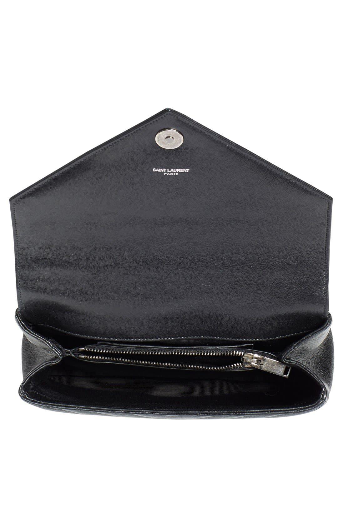 Alternate Image 4  - Saint Laurent 'Medium Monogram' Quilted Leather Shoulder Bag
