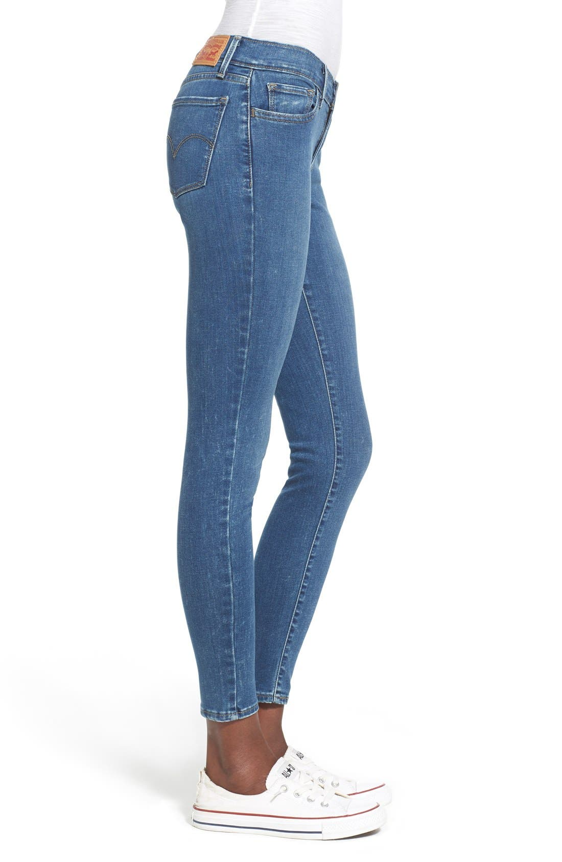 Alternate Image 3  - Levi's® '710' Super Skinny Jeans (Pacific Drive)