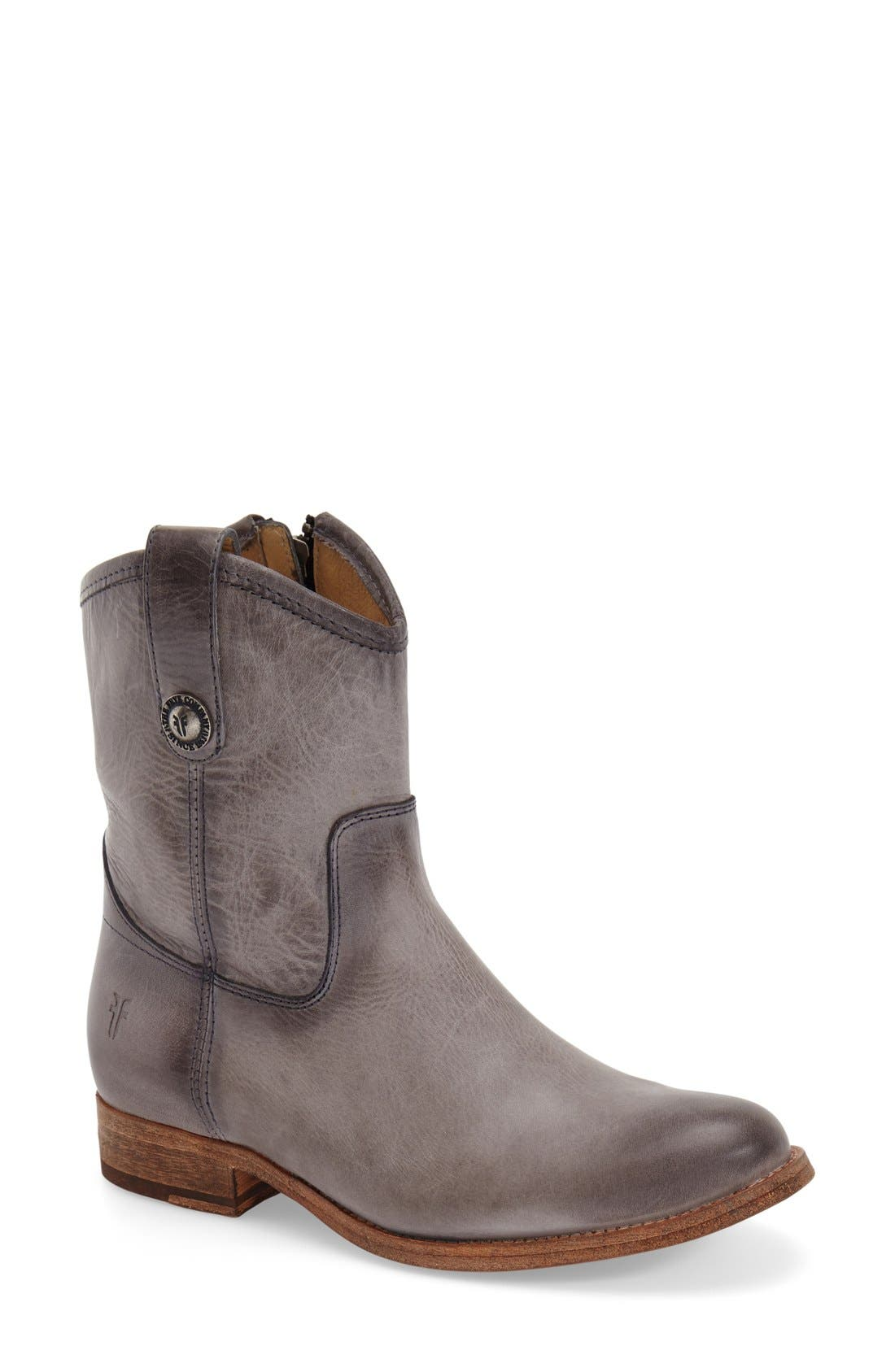 Main Image - Frye 'Melissa Button' Short Boot (Women)