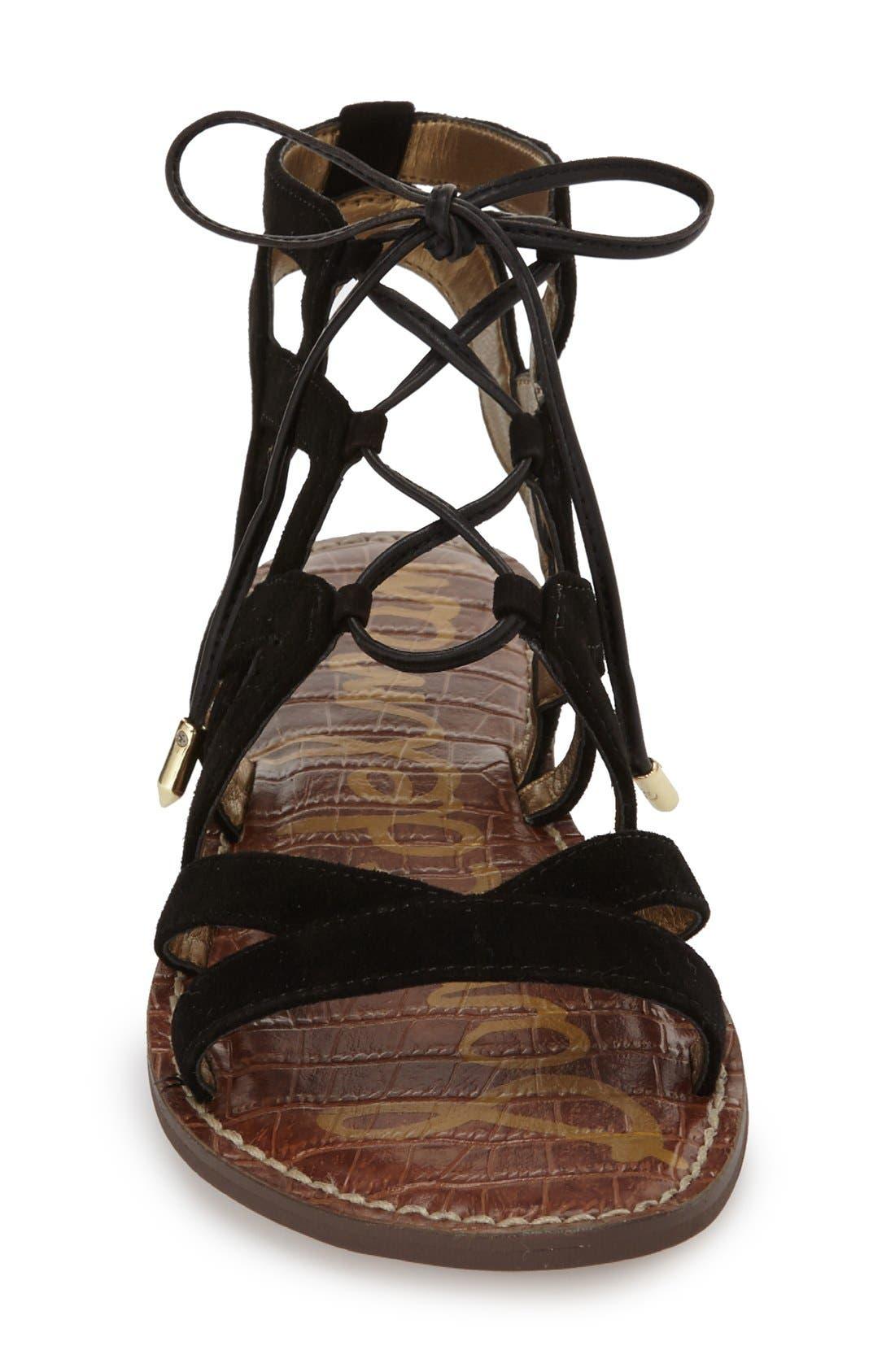 Alternate Image 3  - Sam Edelman Gemma Lace-Up Sandal (Women)
