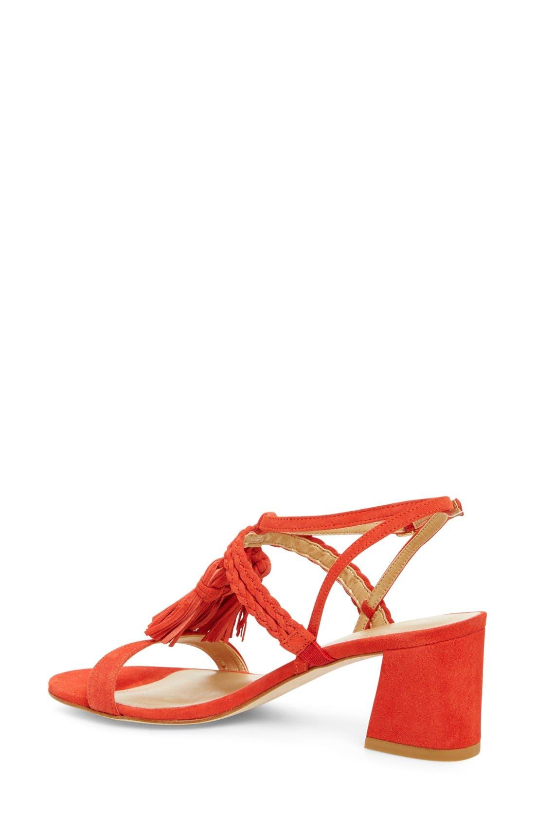 Alternate Image 3  - Stuart Weitzman 'Tasselmania' Strappy Sandal (Women)