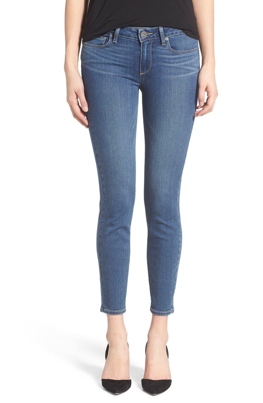 Alternate Image 1 Selected - Paige Denim 'Transcend - Verdugo' Crop Jeans (Nadeen)