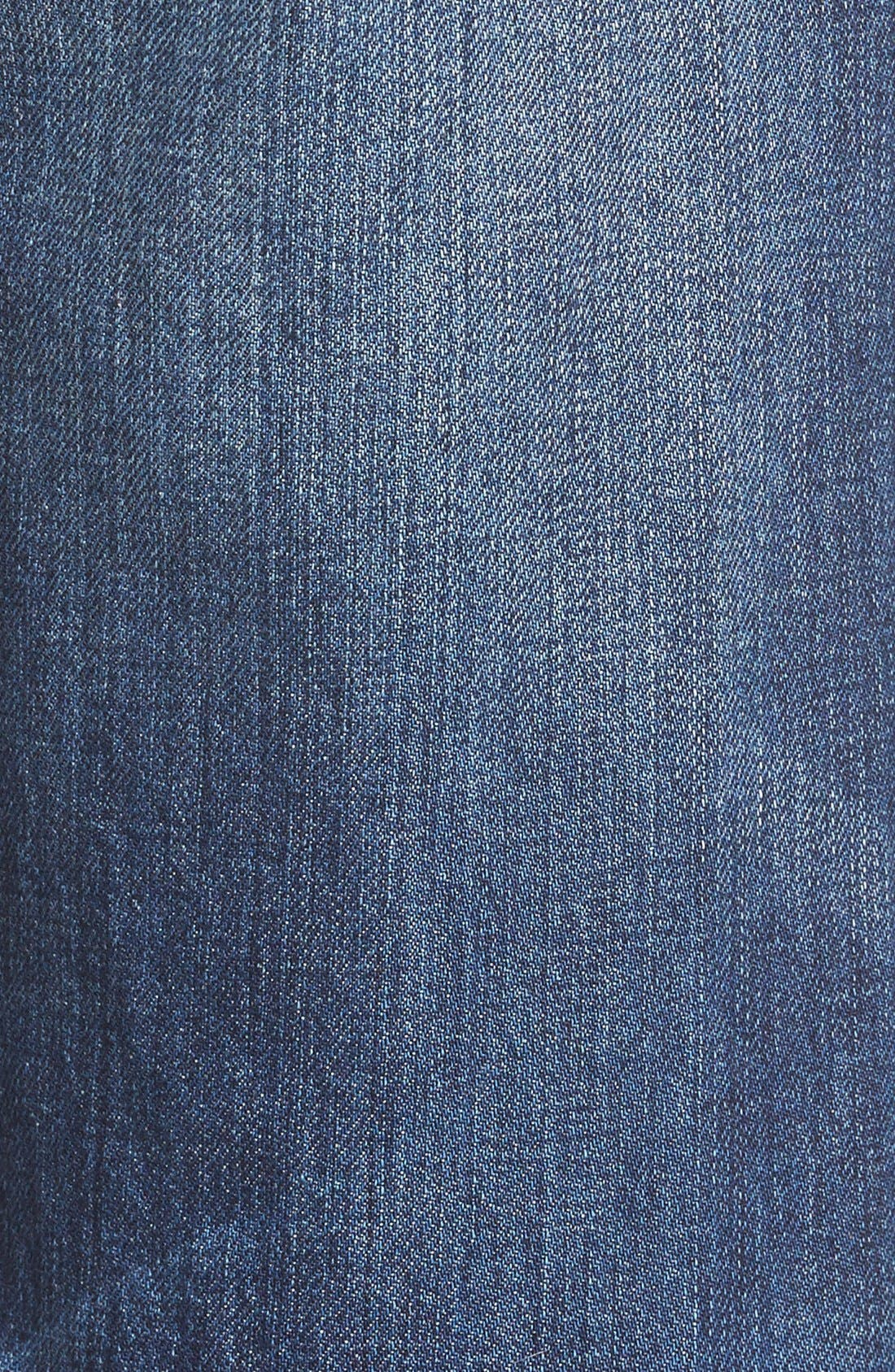 Alternate Image 5  - Madewell Crop Straight Leg Jeans (Preston)