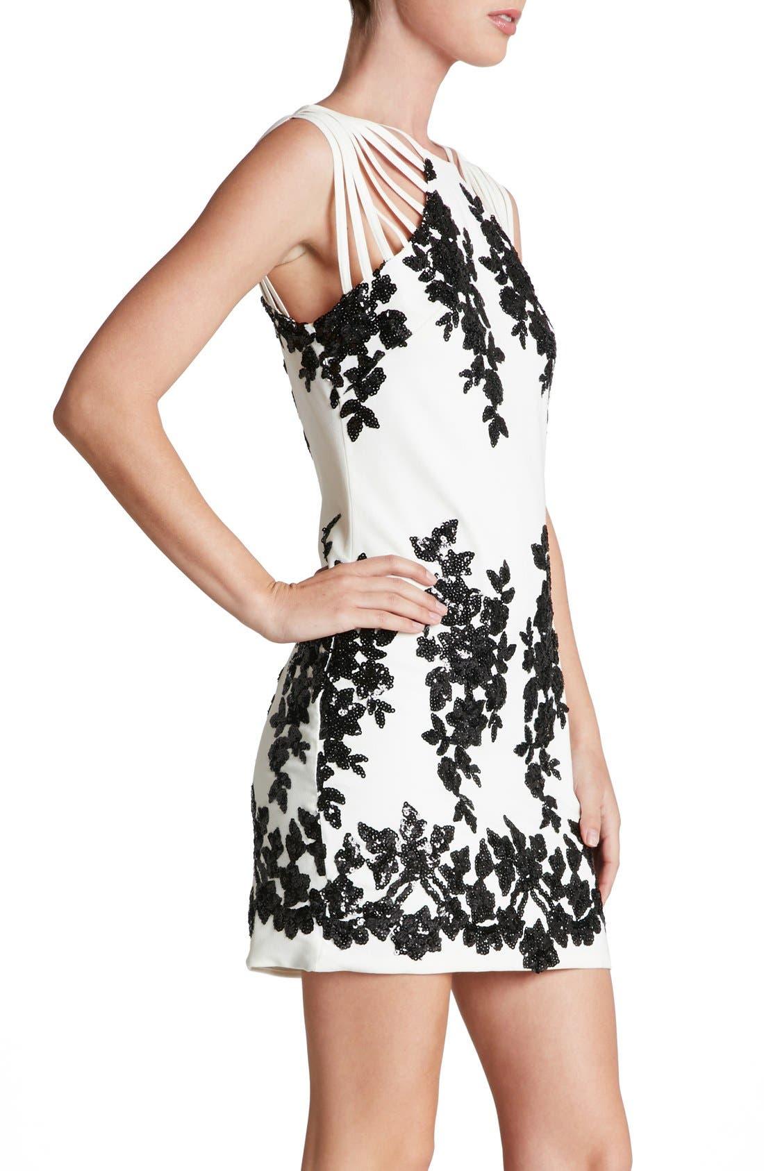 Alternate Image 3  - Dress the Population 'Cora' Sequin Minidress