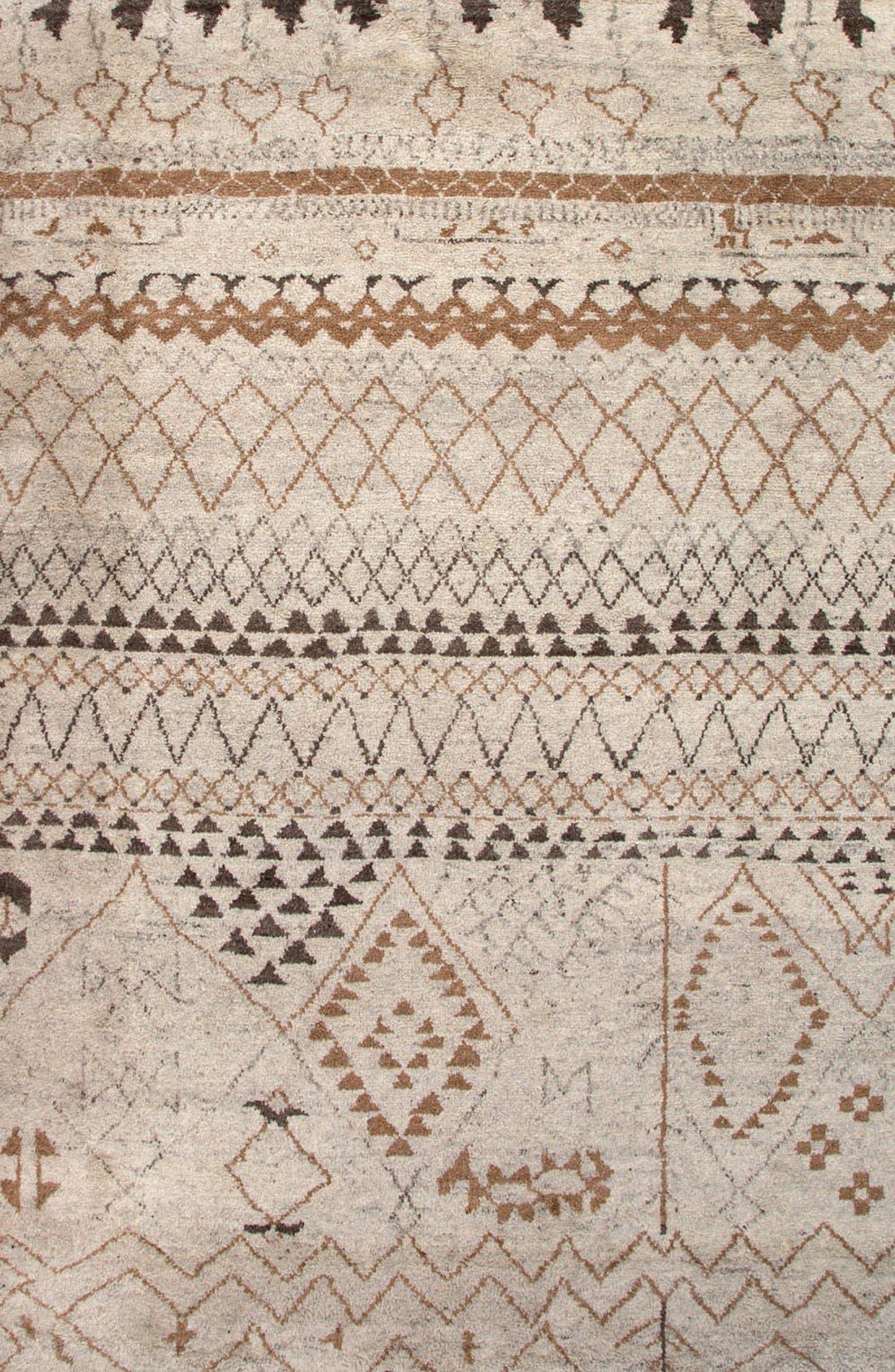 JAIPUR 'Zola Zag' Wool Area Rug