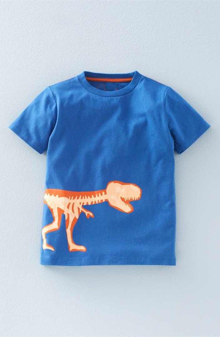 Mini Boden Glow In The Dark Graphic T Shirt Toddler Boys