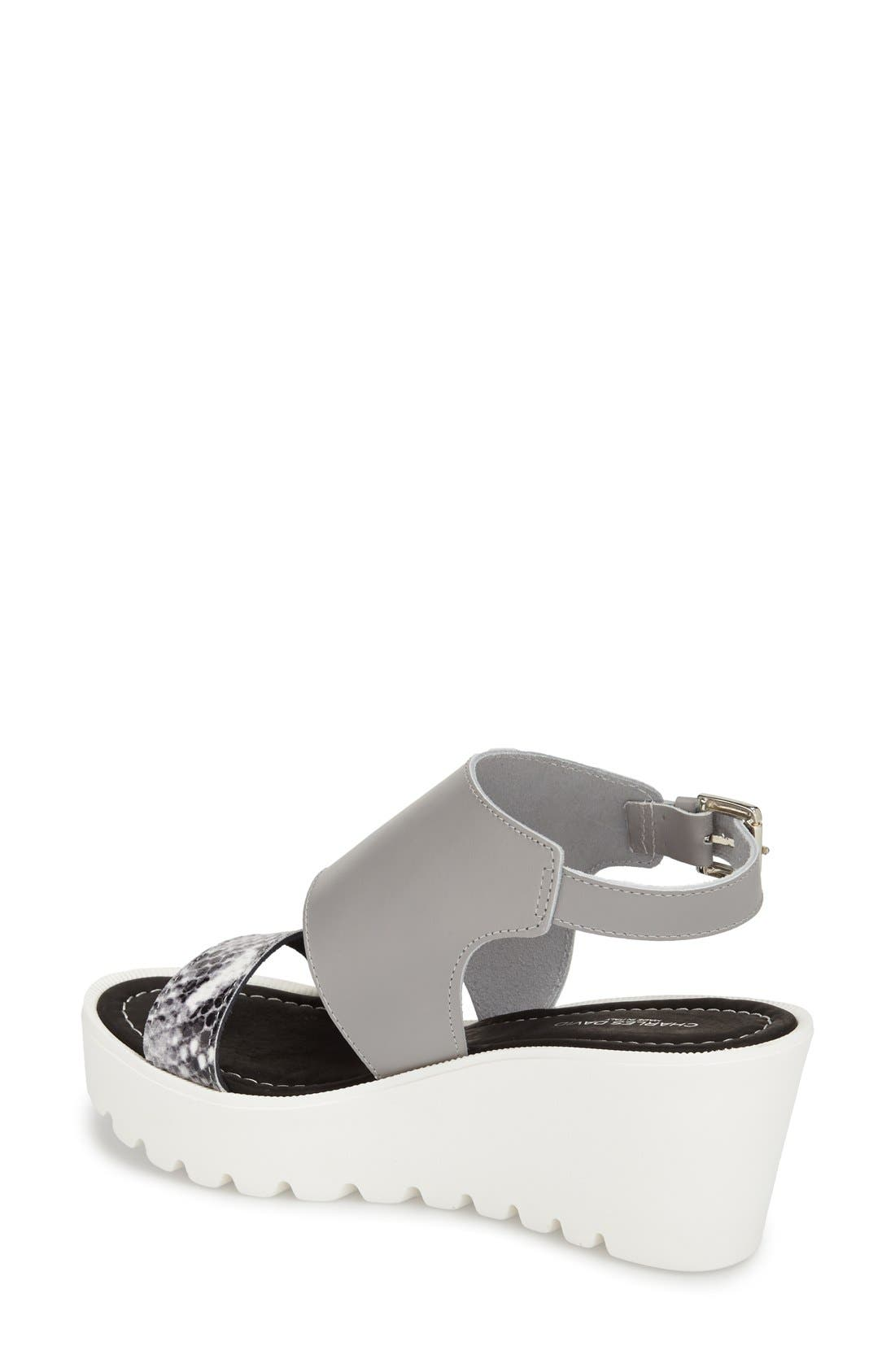 Alternate Image 2  - Charles David 'Apria' Wedge Sandal (Women)