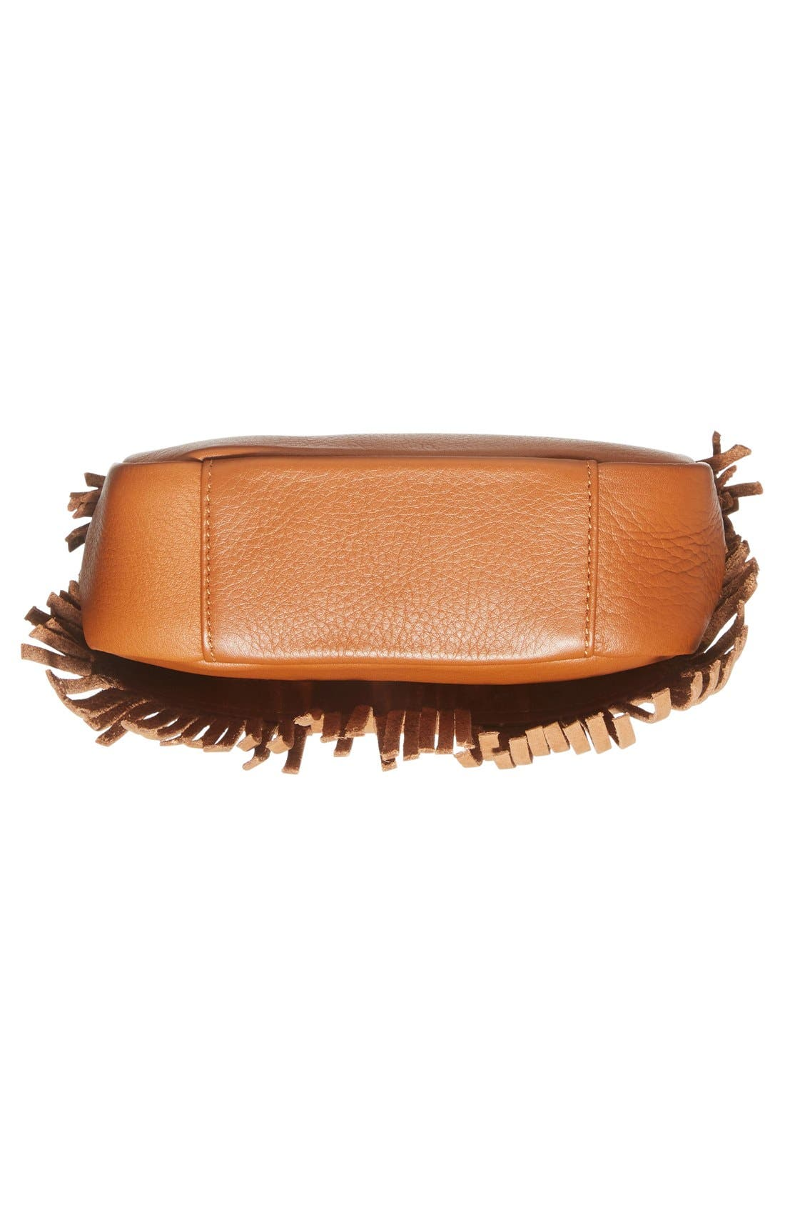 Alternate Image 6  - See by Chloé 'Medium Paige' Fringe Leather & Suede Clutch