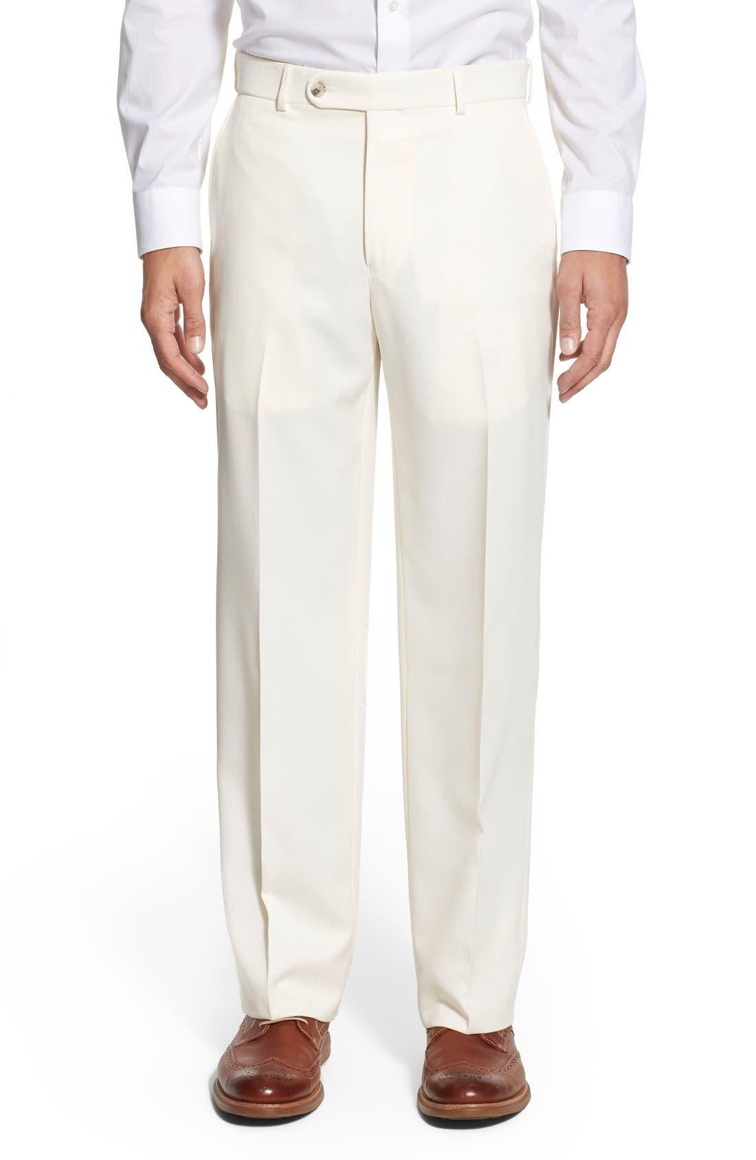 Ballin Regular Fit Flat Front Trousers