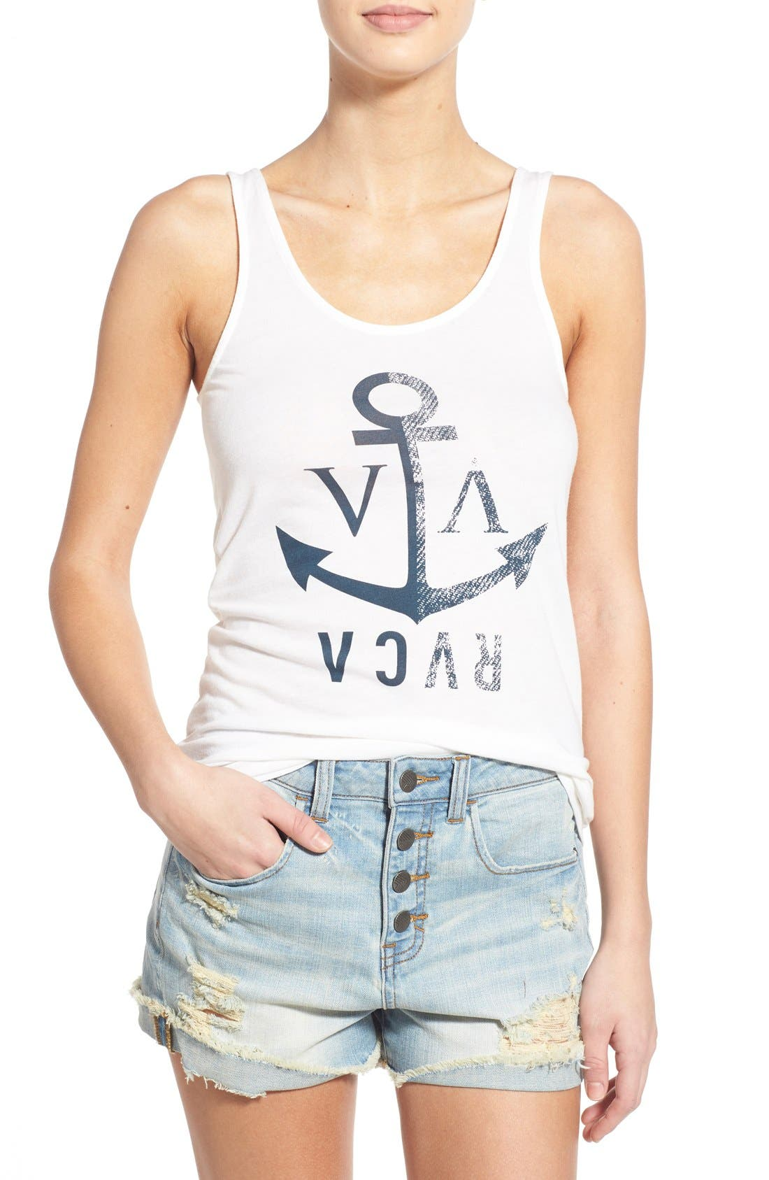 Alternate Image 1 Selected - RVCA 'Anchor Away' Tank