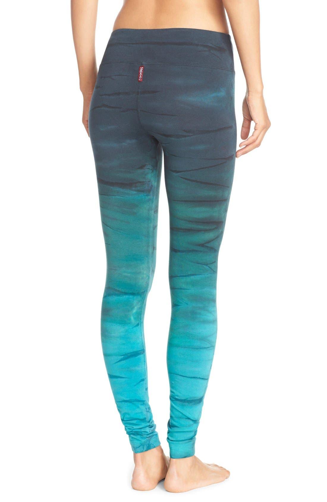 Alternate Image 2  - Hard Tail Tie Dye Leggings