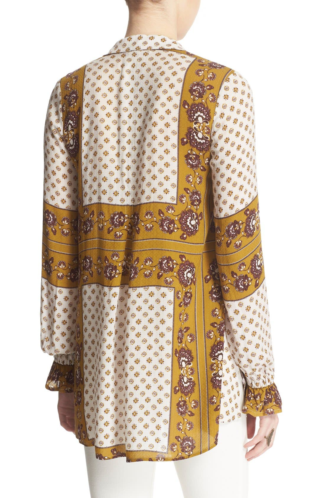 Alternate Image 2  - Free People 'Changing Times' Floral Print Tunic