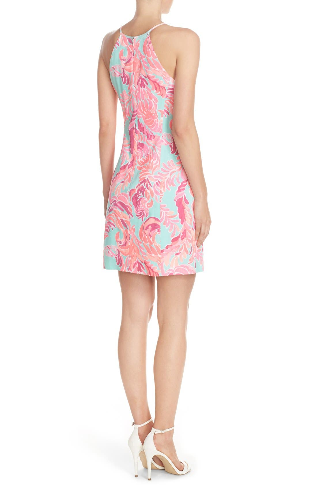 Alternate Image 2  - Lilly Pulitzer® 'Pearl' Cotton Dobby Sheath Dress