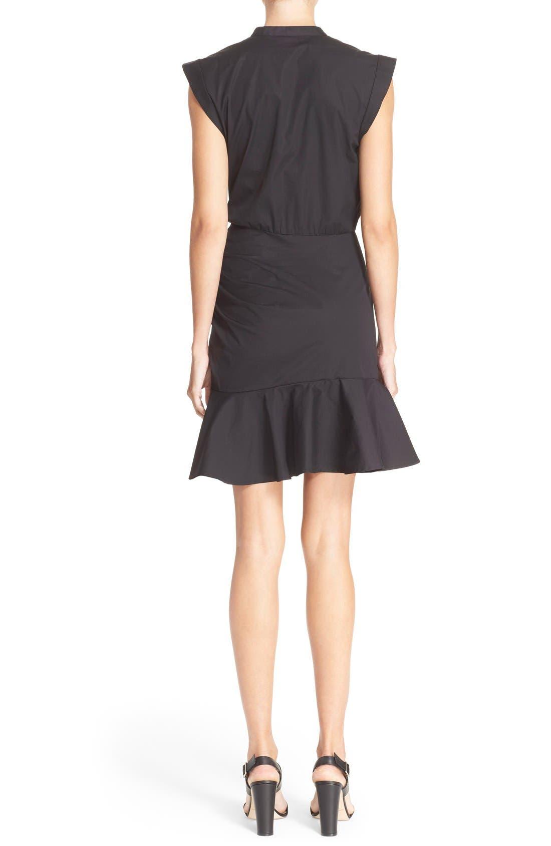 Alternate Image 2  - Veronica Beard 'Fountain' Cap Sleeve Ruched Dress