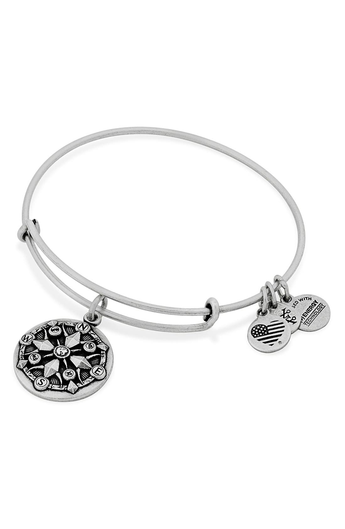 Alternate Image 3  - Alex and Ani 'Compass' Adjustable Wire Bangle