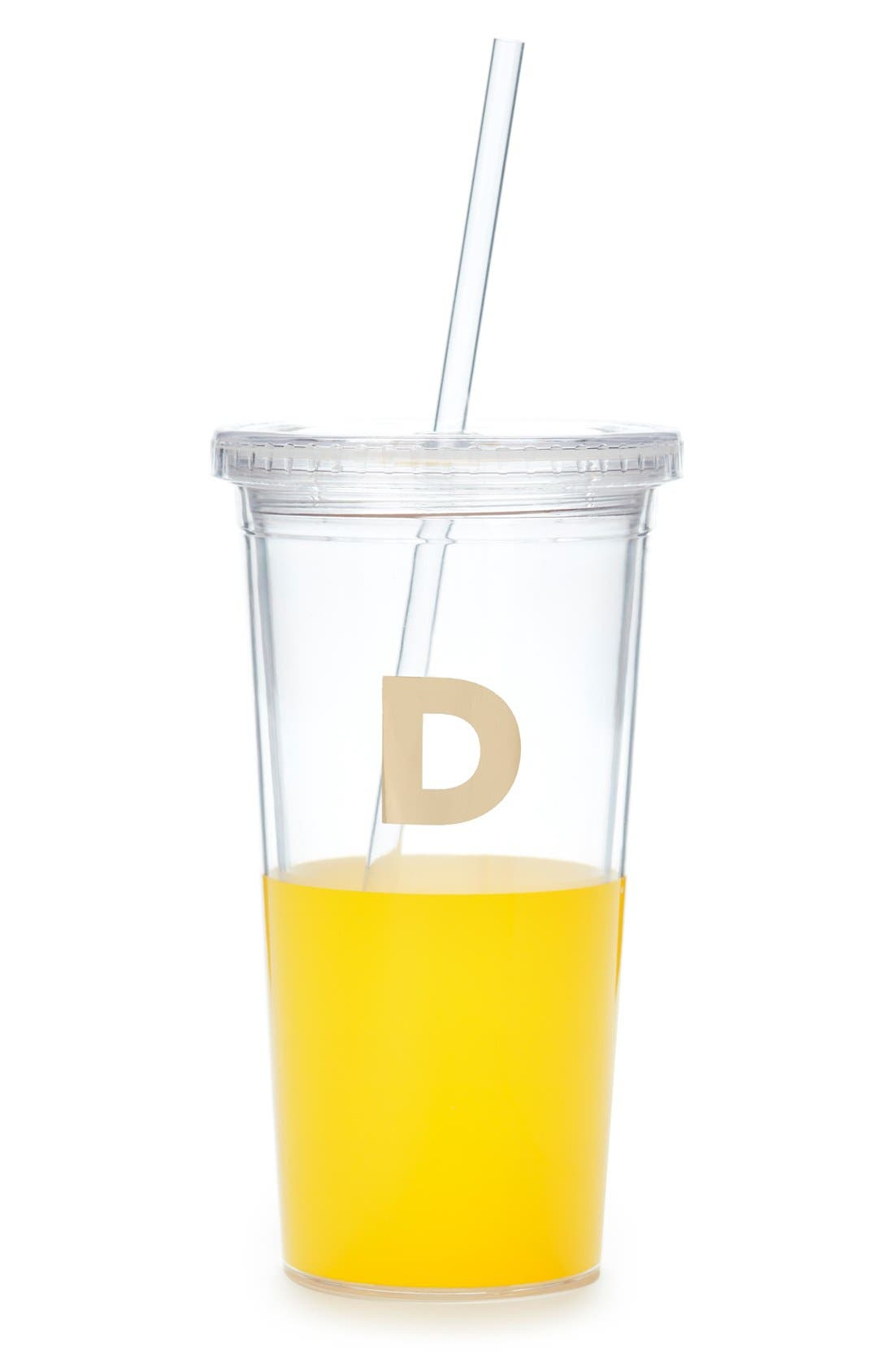 Alternate Image 1 Selected - kate spade new york 'dipped' insulated tumbler
