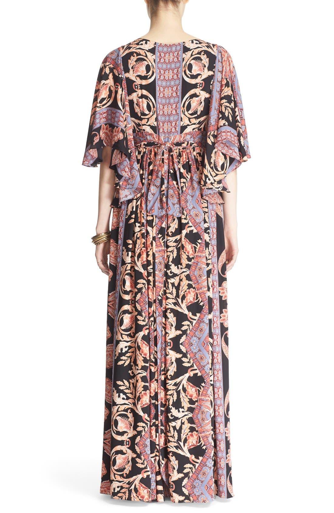 Alternate Image 2  - Free People 'Fern' Print Maxi Dress