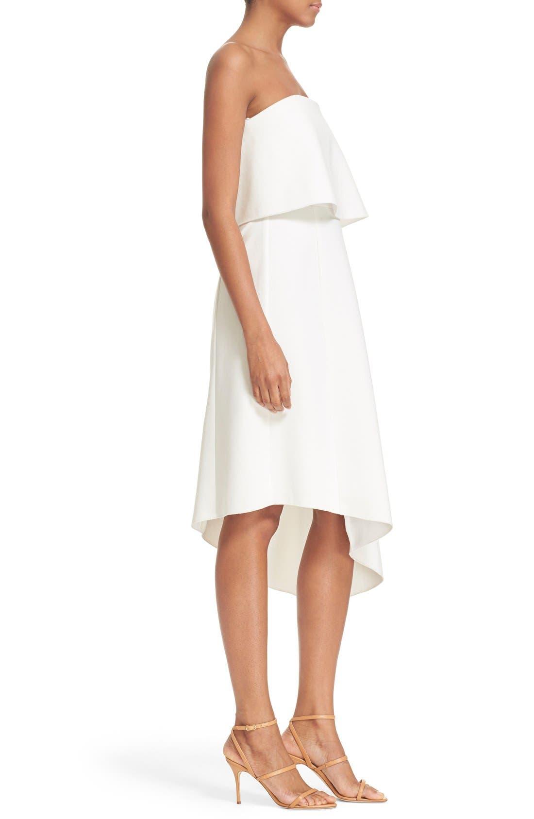 Alternate Image 3  - N Nicholas Strapless Overlay Dress