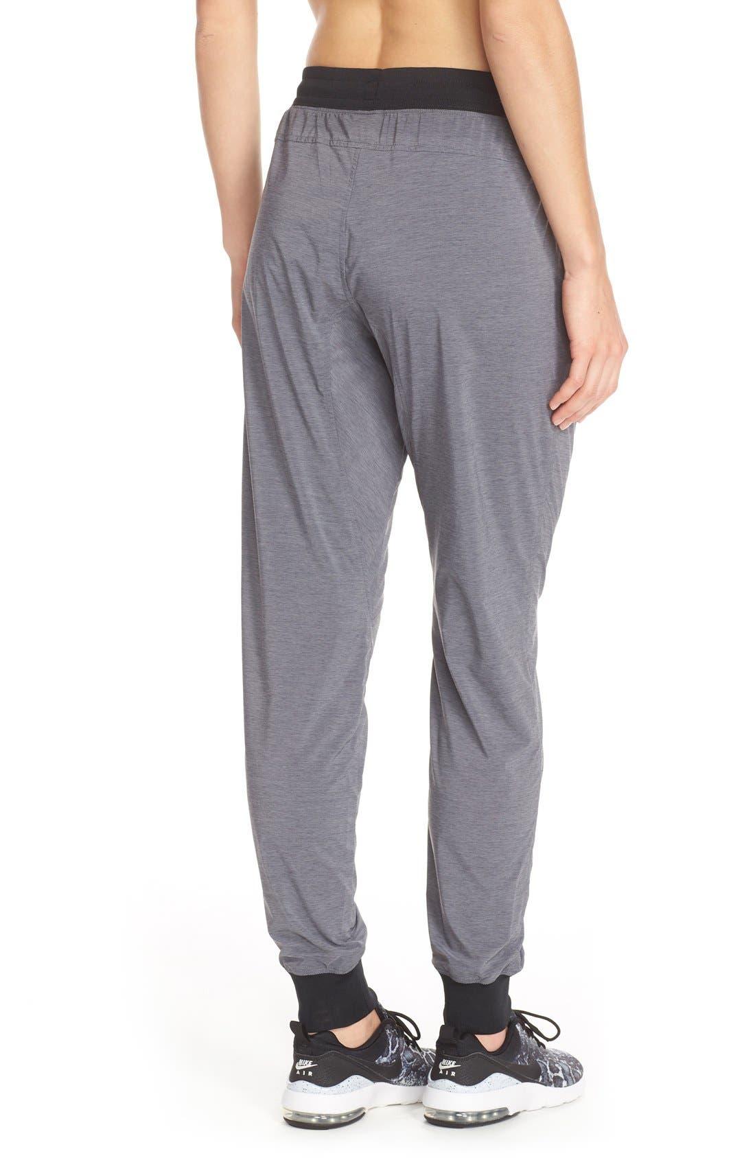 Alternate Image 2  - Nike Bonded Woven Pants