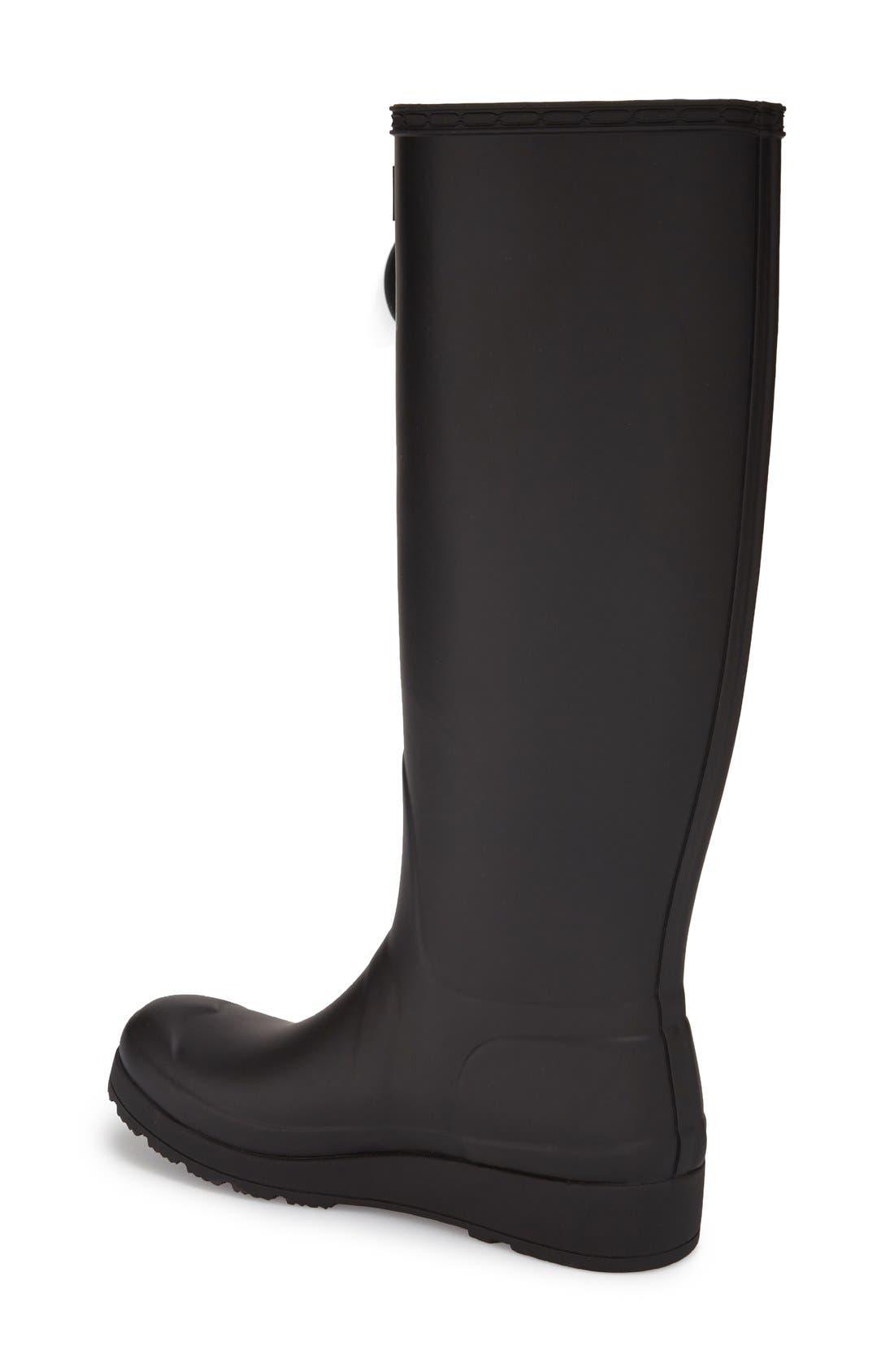 Alternate Image 2  - Hunter 'Original Tall- Wedge' Rain Boot (Women)