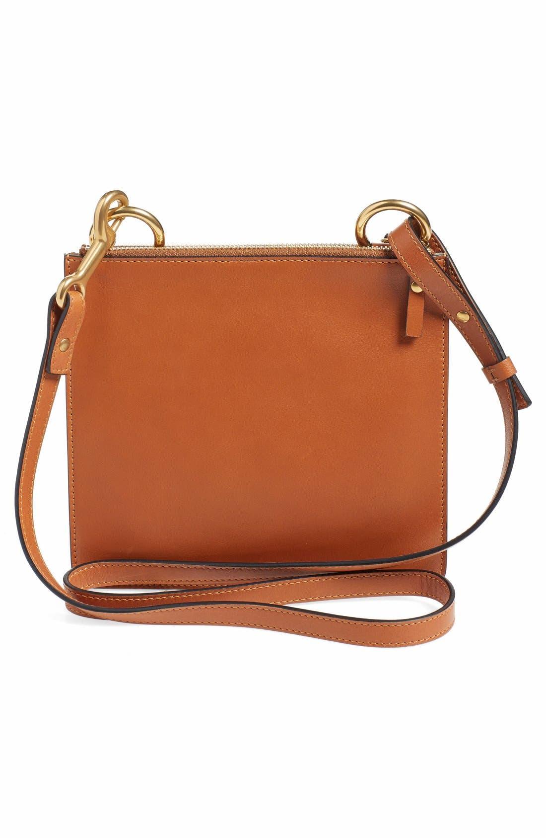 Alternate Image 2  - Chloé 'Small Jane' Tassel Suede & Leather Crossbody Bag