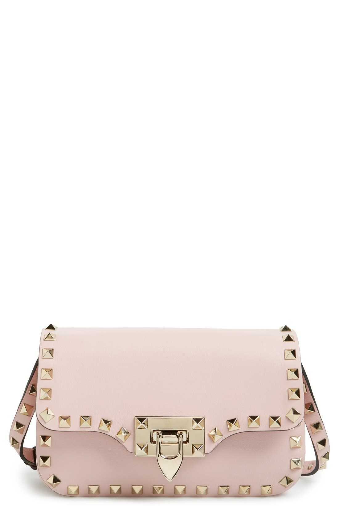 Alternate Image 1 Selected - Valentino 'Mini Rockstud' Crossbody Bag