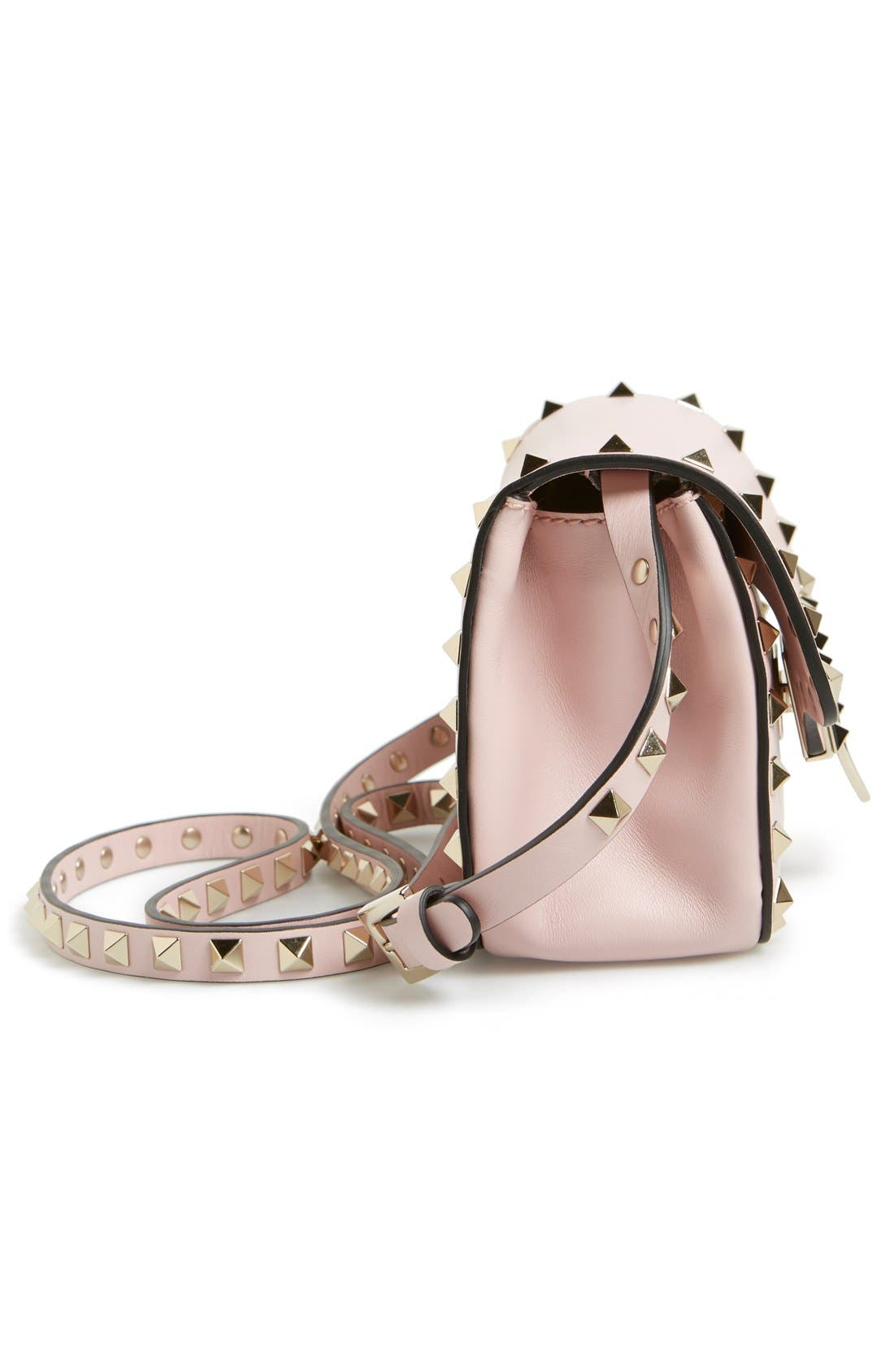 Alternate Image 5  - Valentino 'Mini Rockstud' Crossbody Bag