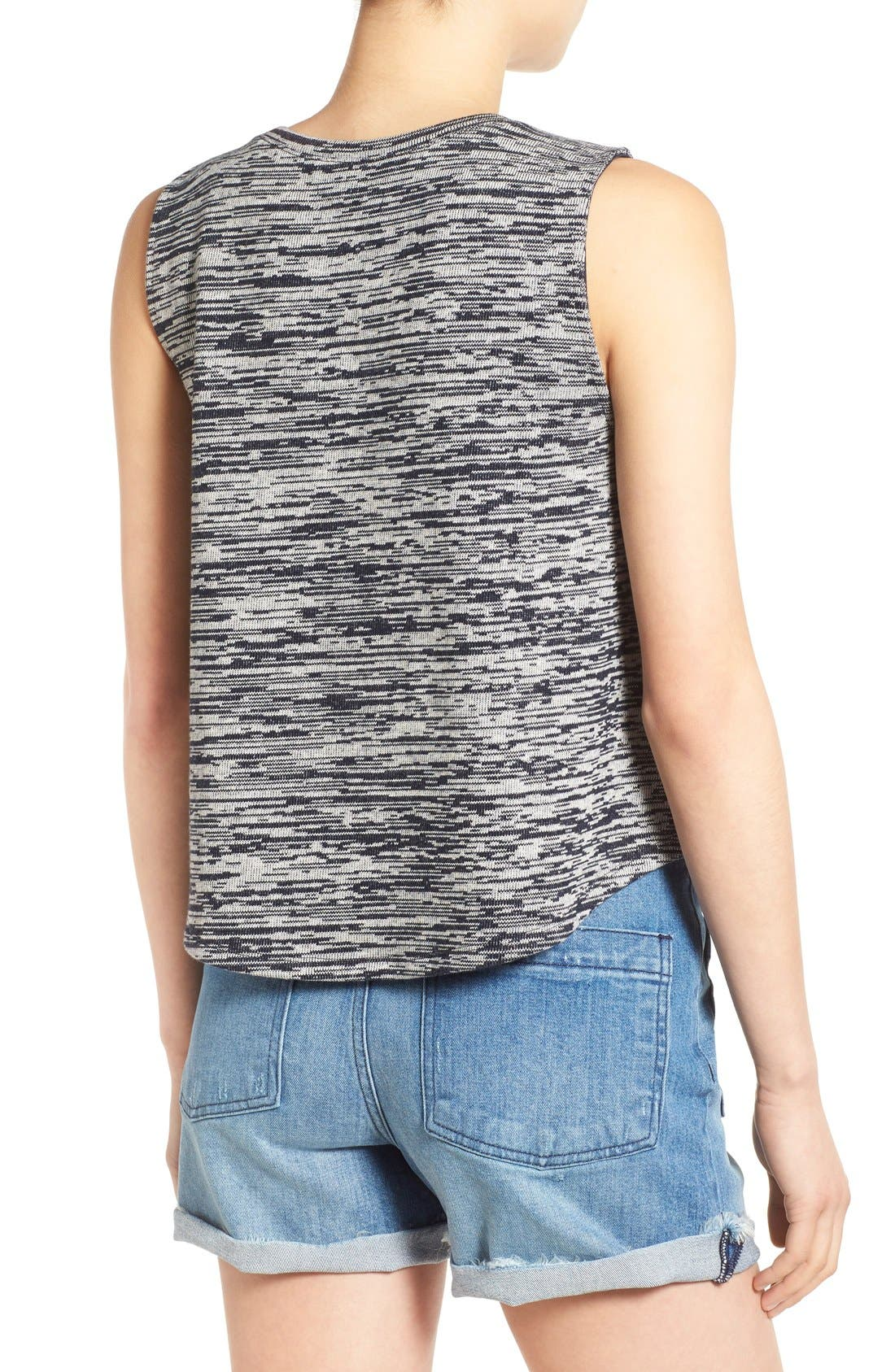 Alternate Image 2  - Madewell 'Marty' Space Dye Tank