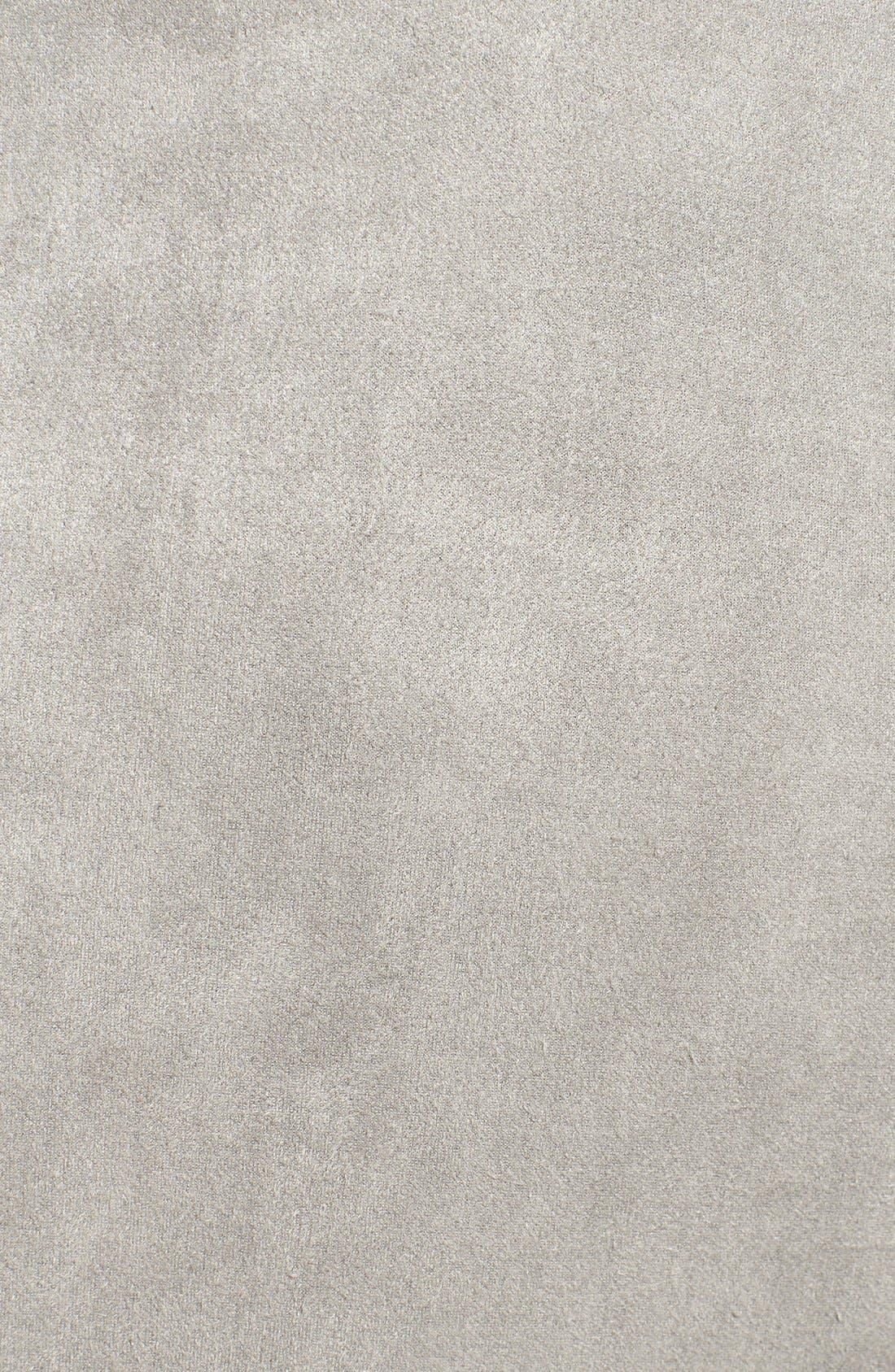 Alternate Image 6  - Glamorous Lace-Up Faux Suede Bodysuit