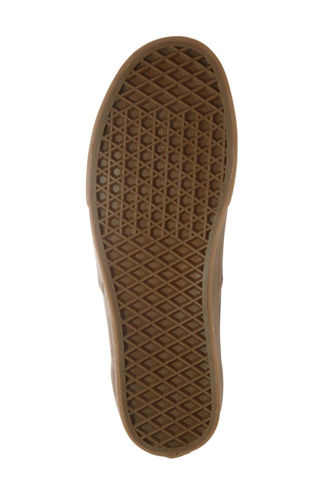 Alternate Image 4  - Vans 'Authentic' Sneaker (Men)