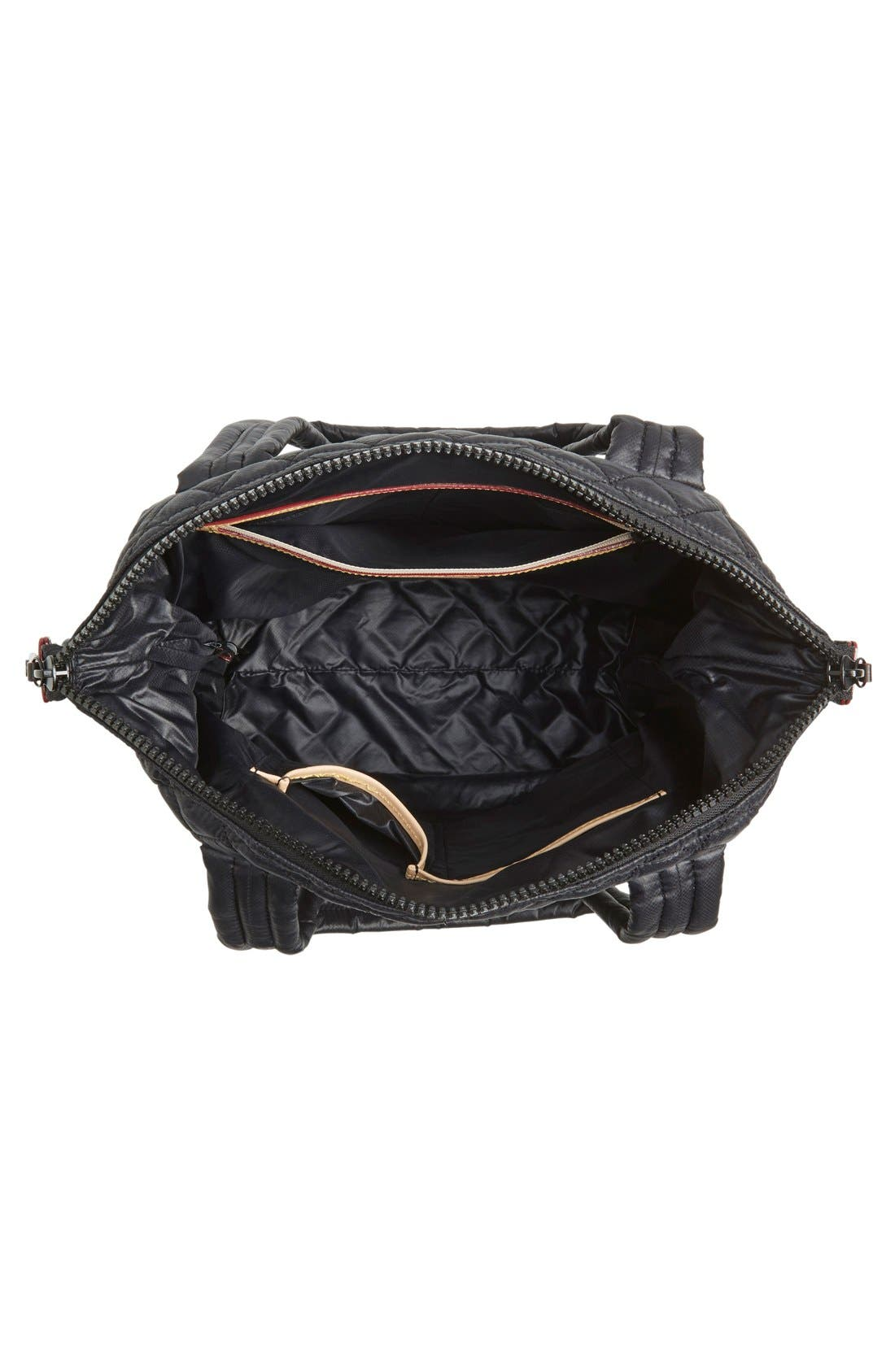 Alternate Image 5  - MZ Wallace 'Medium Sutton' Quilted Oxford Nylon Shoulder Tote