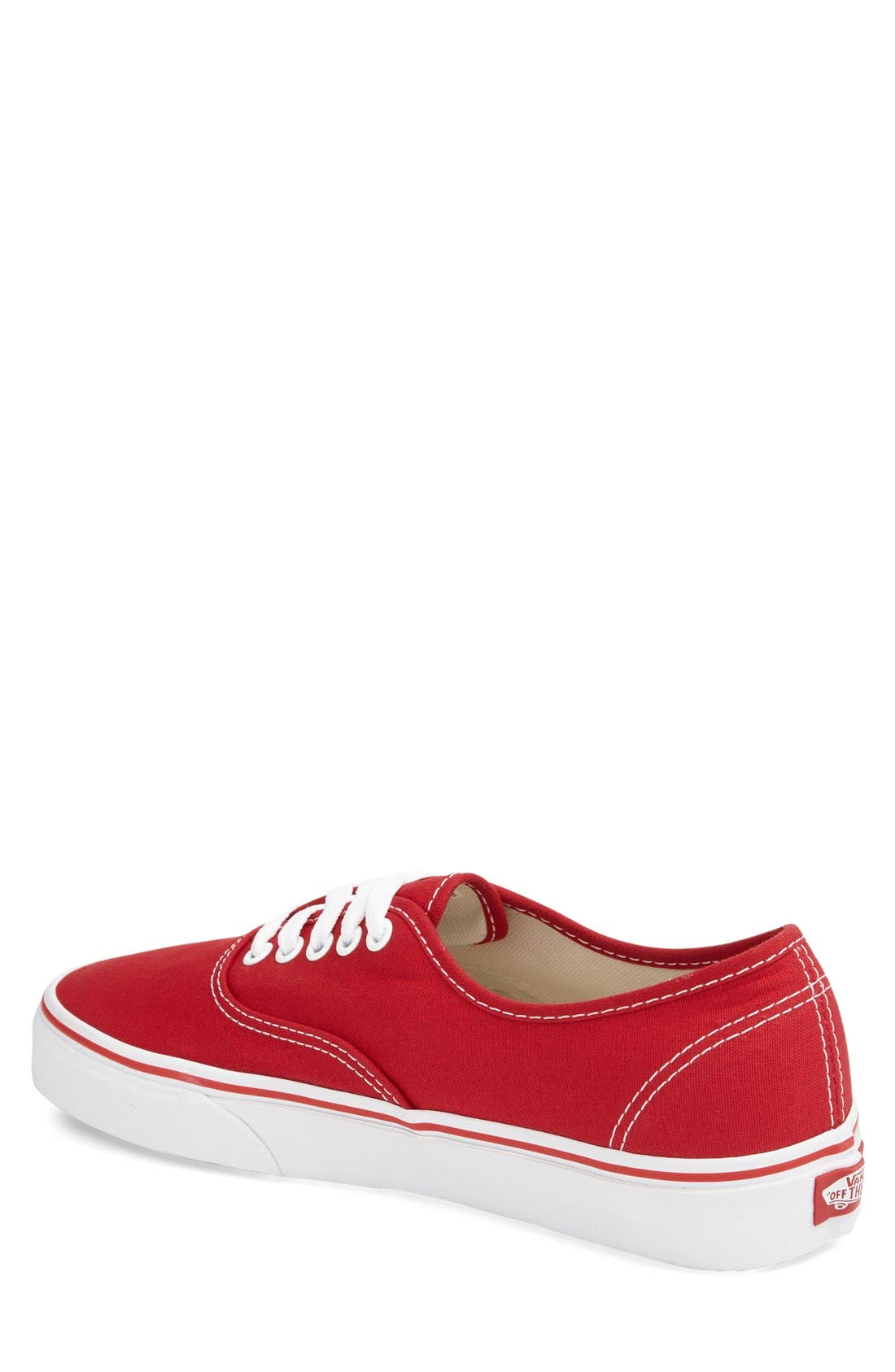 Alternate Image 2  - Vans 'Authentic' Sneaker (Men)