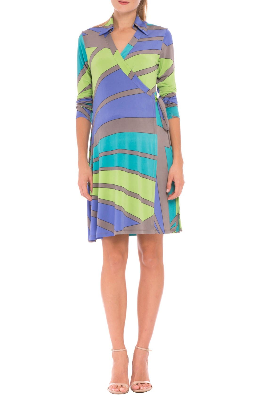 OLIAN 'Trisha' Matnernity Wrap Dress
