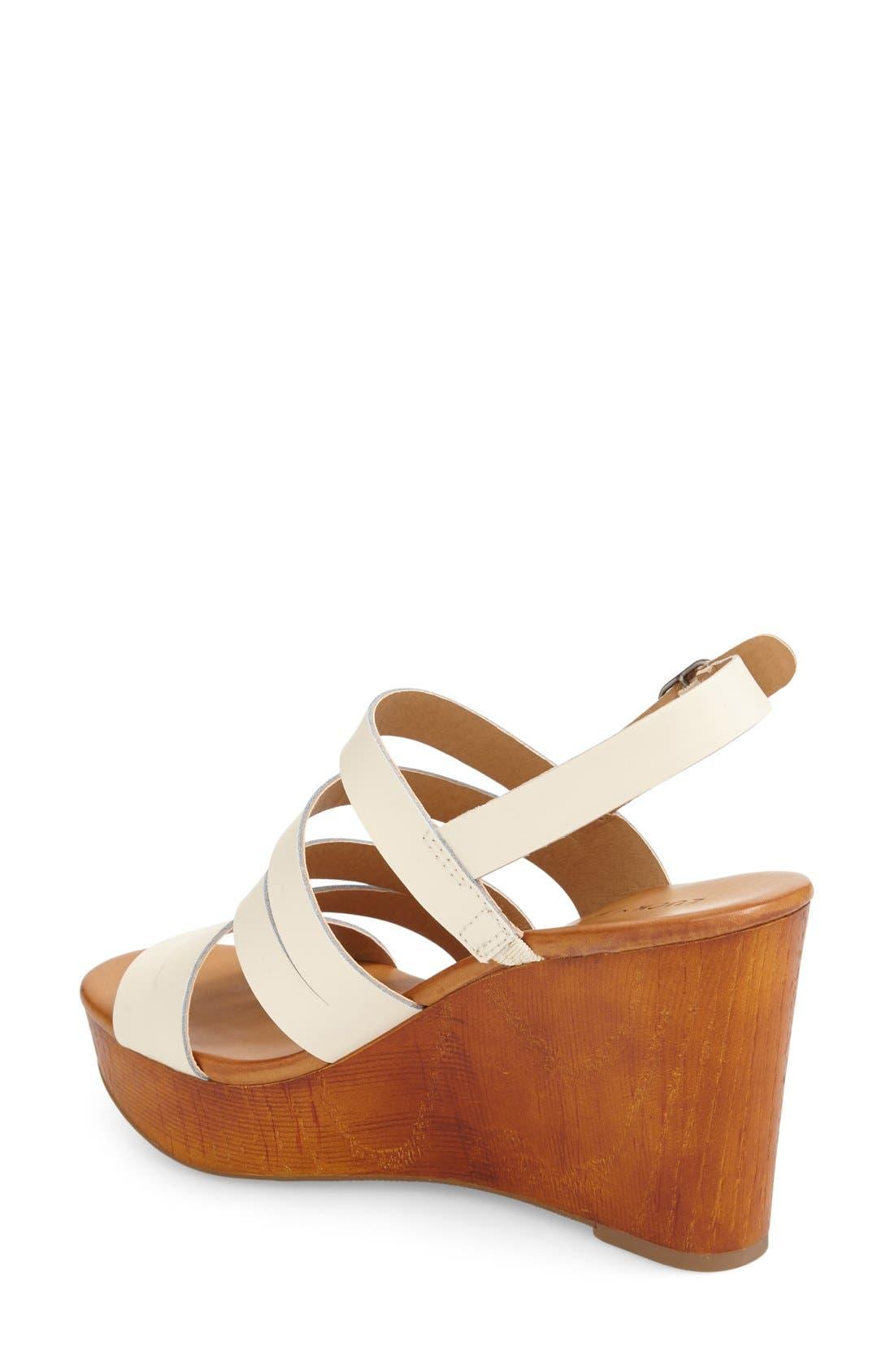 Alternate Image 2  - Lucky Brand 'Marinaa' Wedge Sandal (Women)