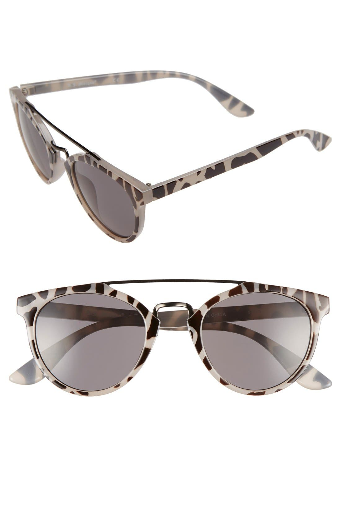 Alternate Image 1 Selected - A.J. Morgan 'Coco' 49mm Sunglasses
