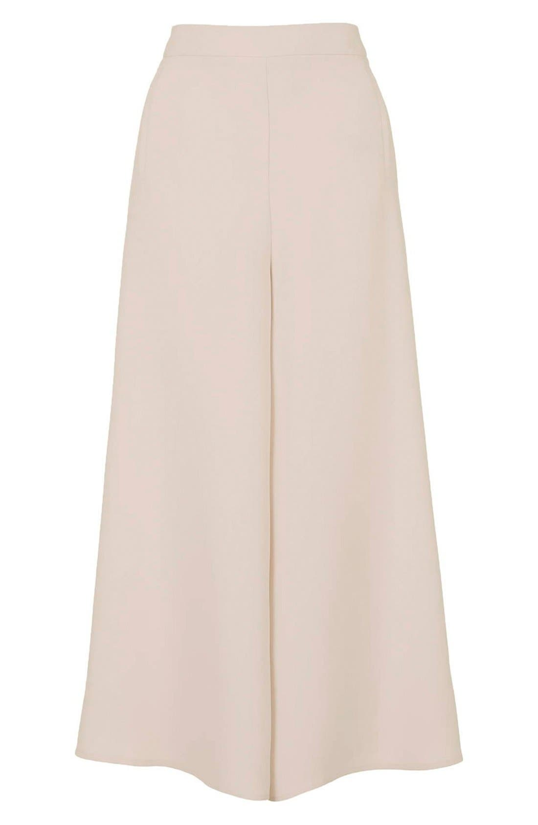 Alternate Image 4  - Topshop Palazzo Trousers