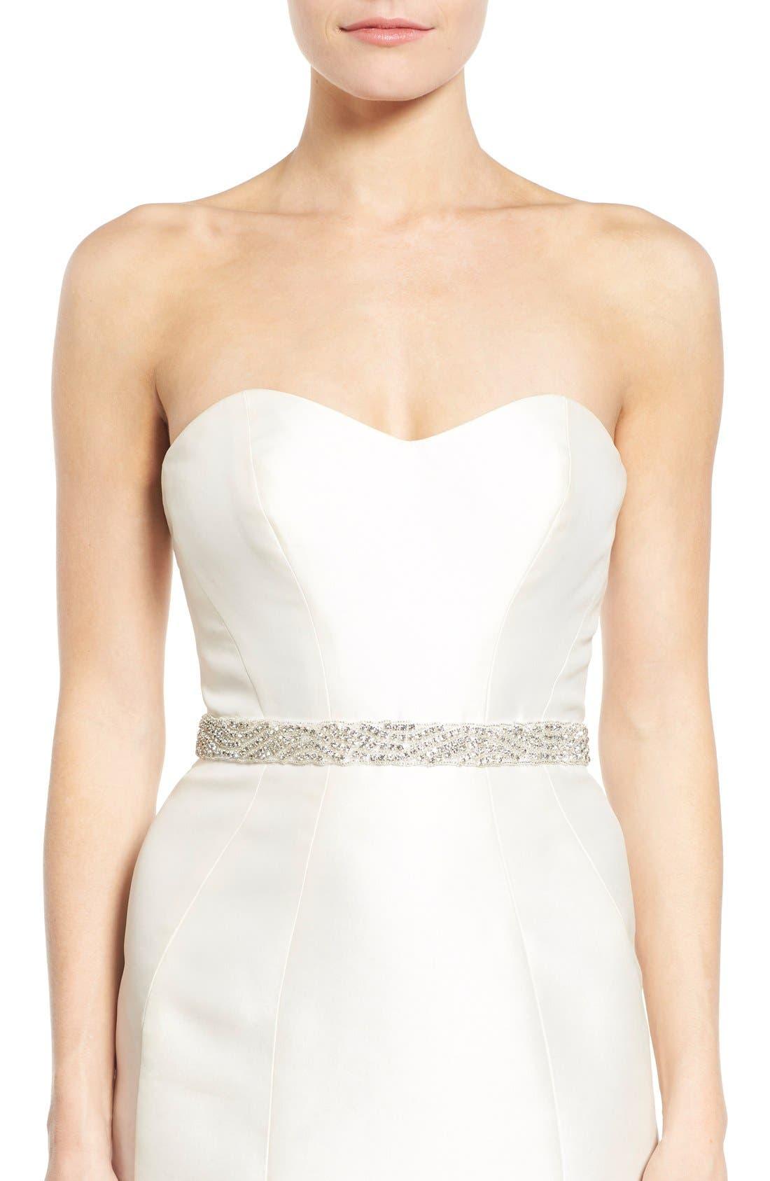 Nina Crystal Embellished Sash