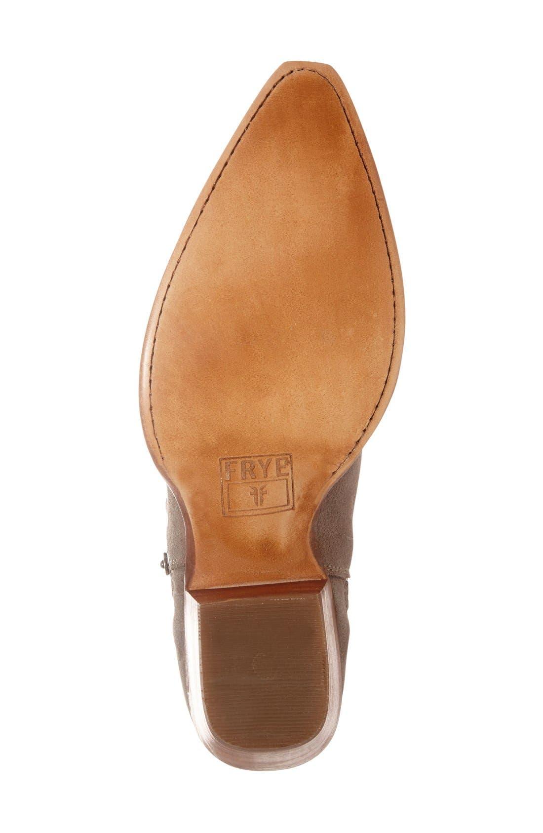 Alternate Image 4  - Frye 'Sacha' Washed Leather Ankle Boot (Women)