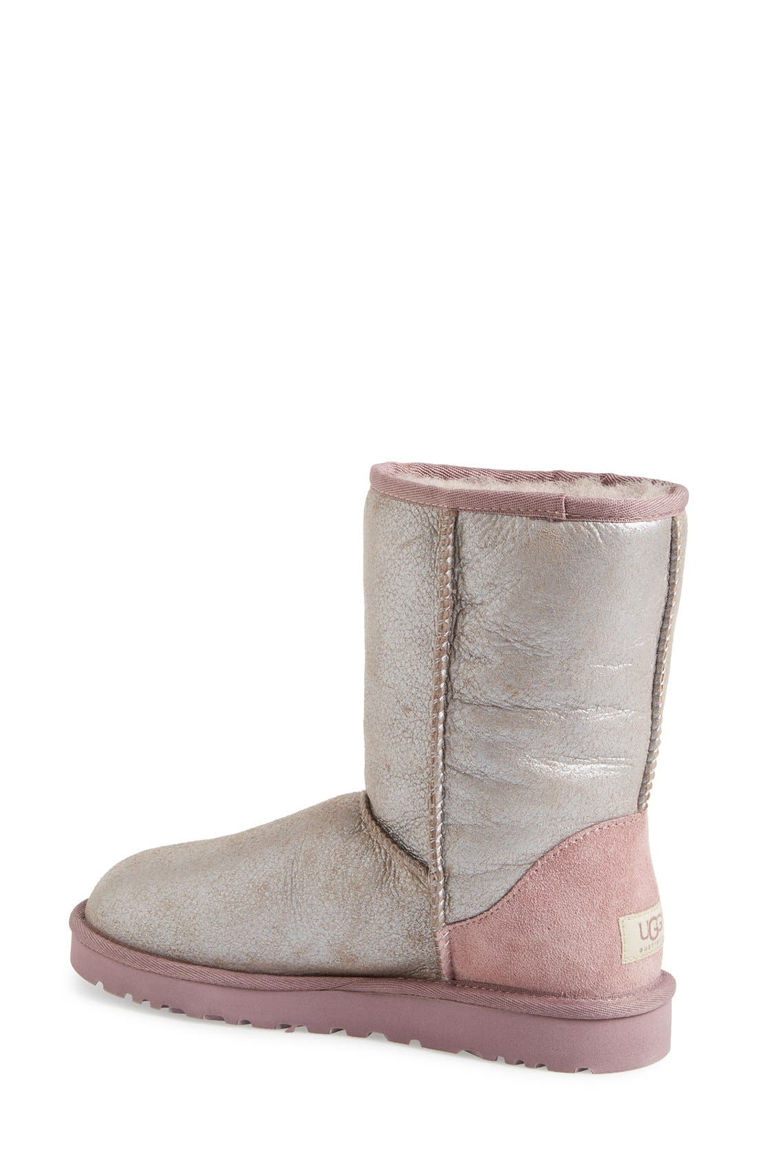 Alternate Image 2  - UGG® 'Classic Short - Metallic' Boot (Women)