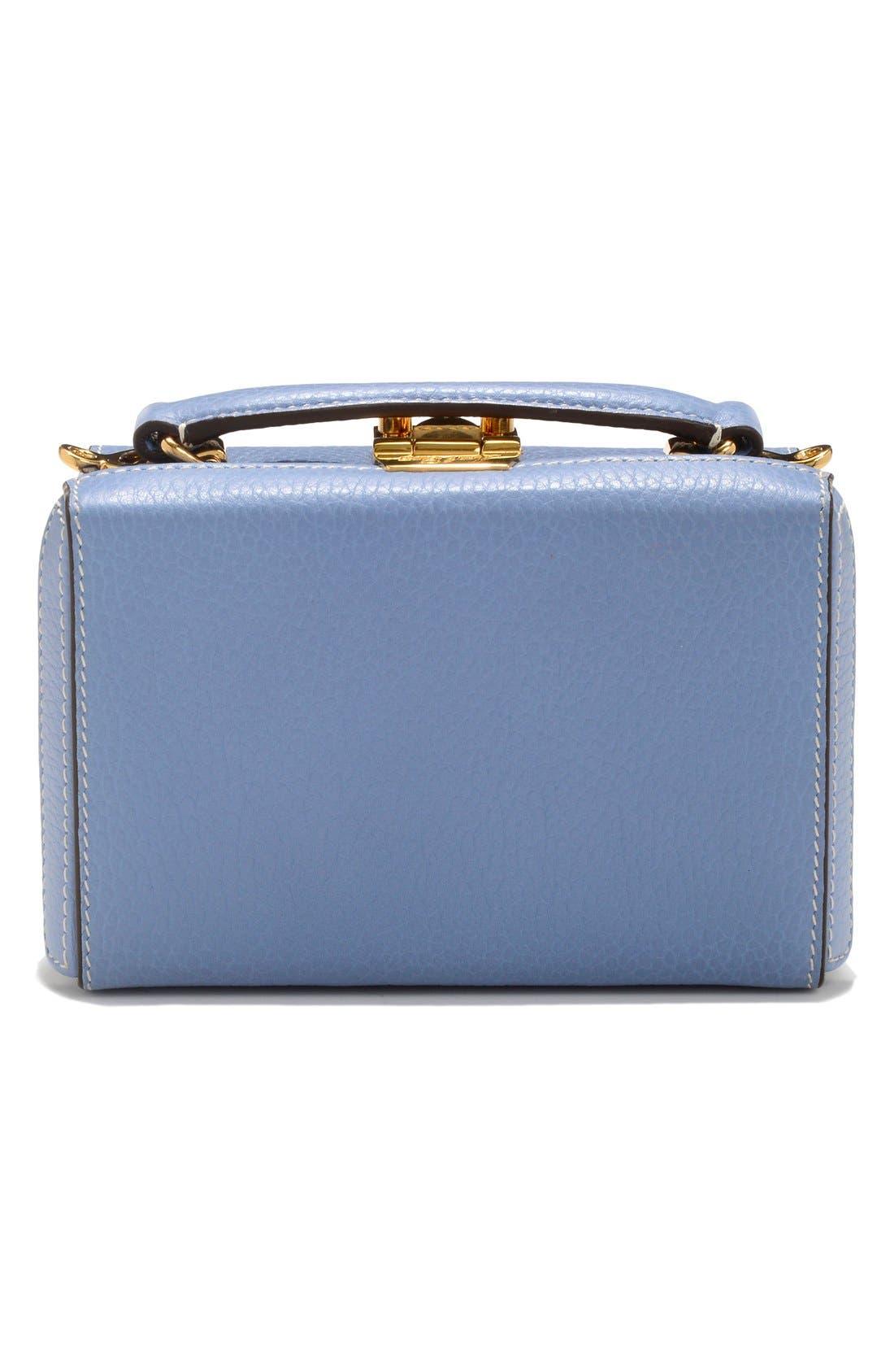 Alternate Image 2  - Mark Cross 'Mini Grace' Pebbled Leather Box Bag