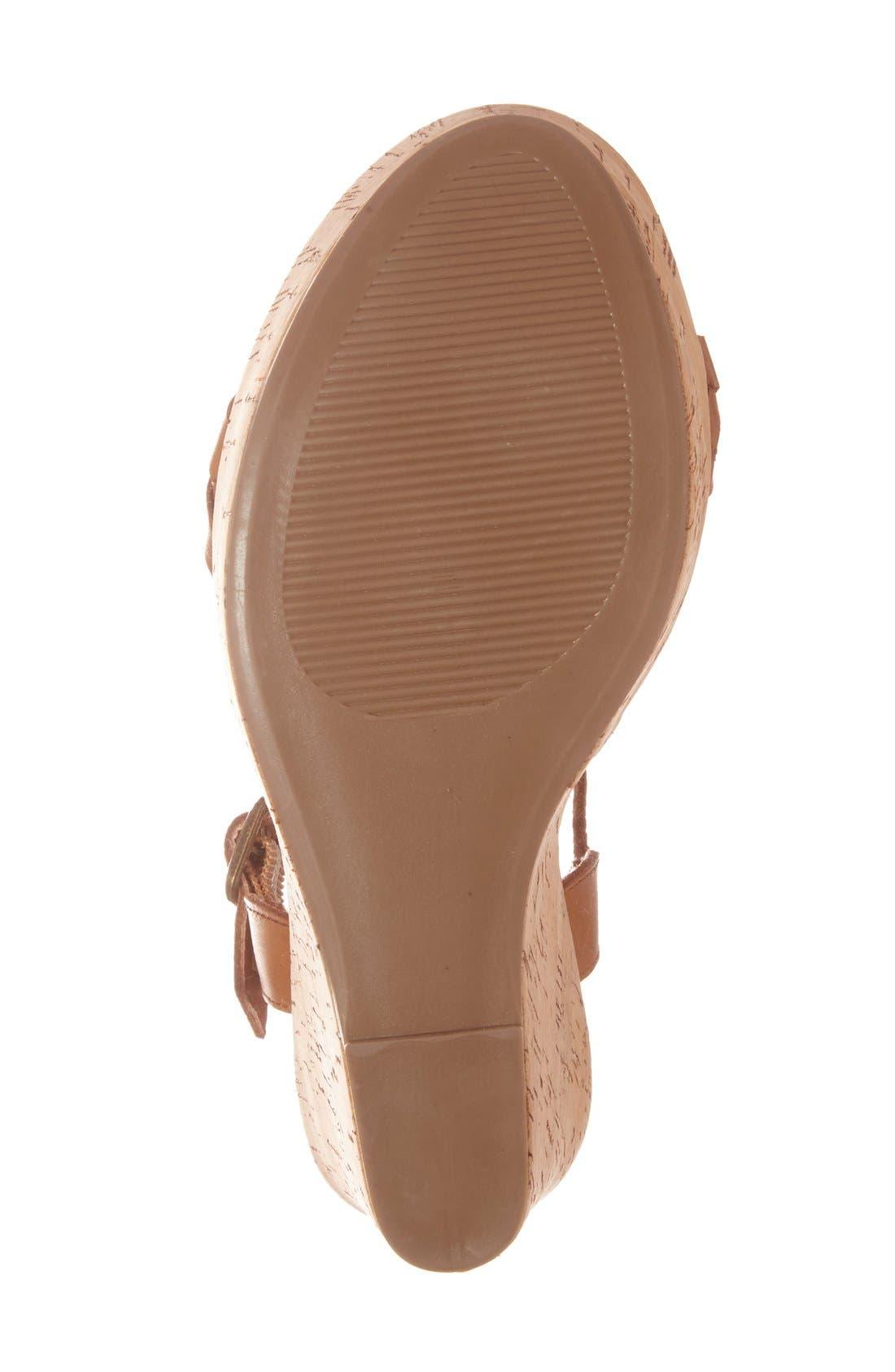 Alternate Image 4  - Steve Madden 'Emmey' Platform Wedge Sandal (Women)