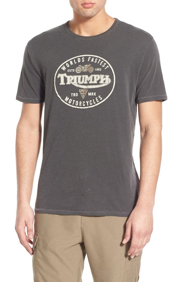 Lucky Brand 39 Triumph 39 Graphic Crewneck T Shirt Nordstrom