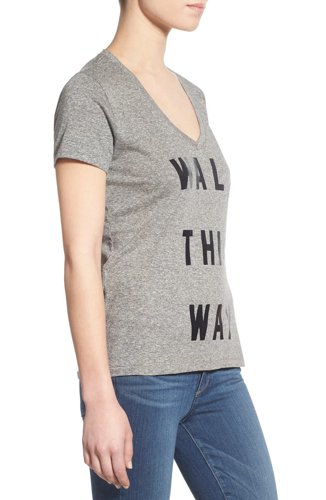 Alternate Image 3  - Sol Angeles 'Walk This Way' V-Neck Tee