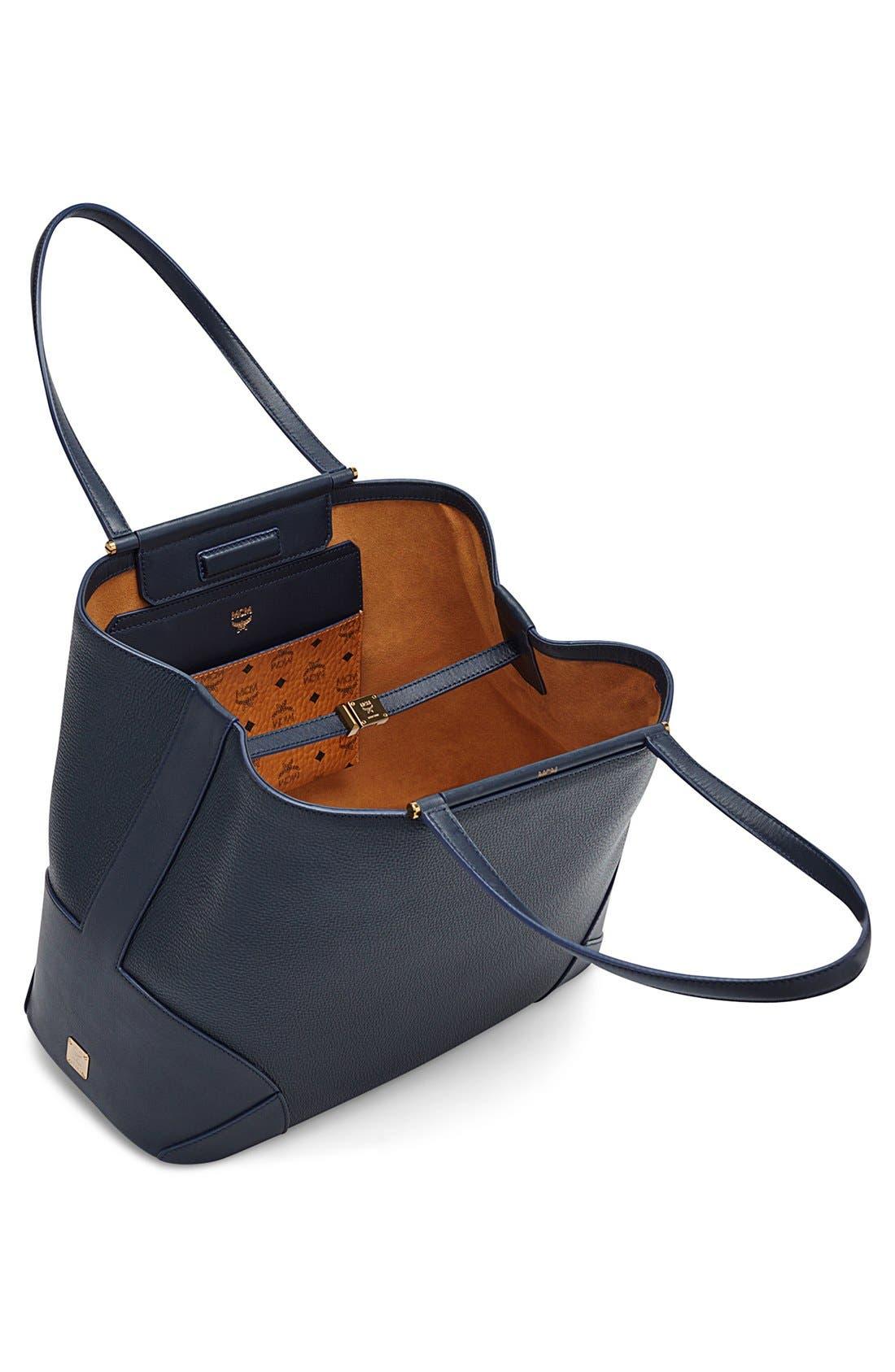 Alternate Image 3  - MCM 'Medium Claudia' Leather Shopper
