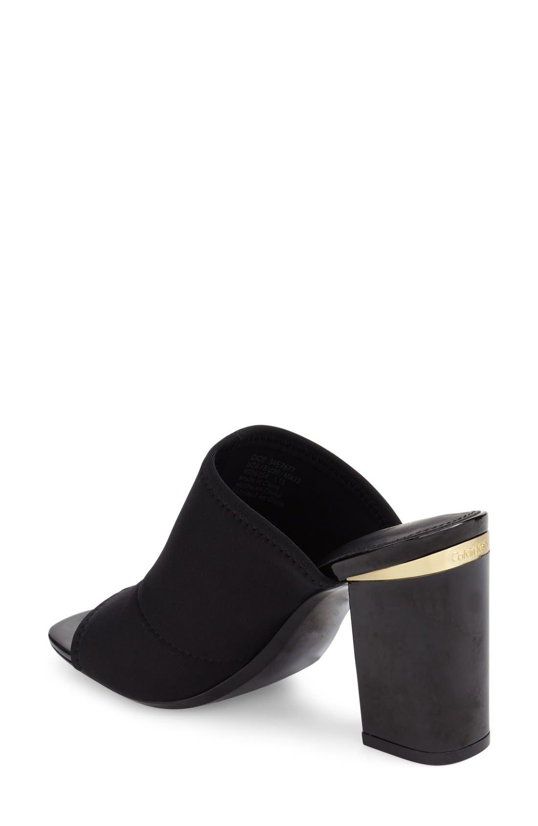 Alternate Image 2  - Calvin Klein 'Cice' Mule Sandal (Women)