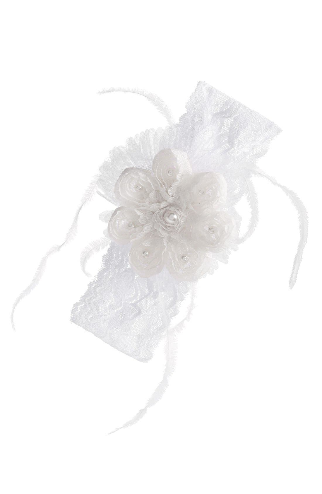 PLH Bows & Laces Headband (Baby Girls & Toddler Girls)