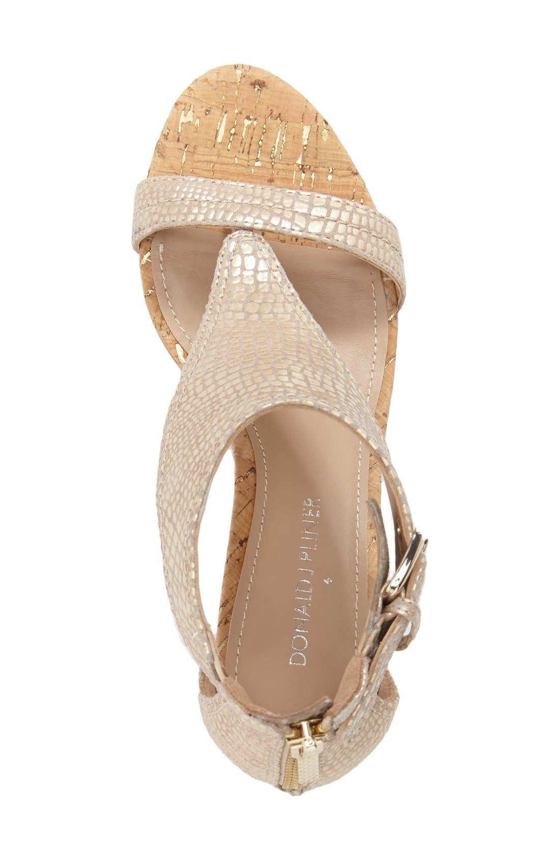 Alternate Image 3  - Donald J Pliner 'June' T-Strap Wedge Sandal (Women)