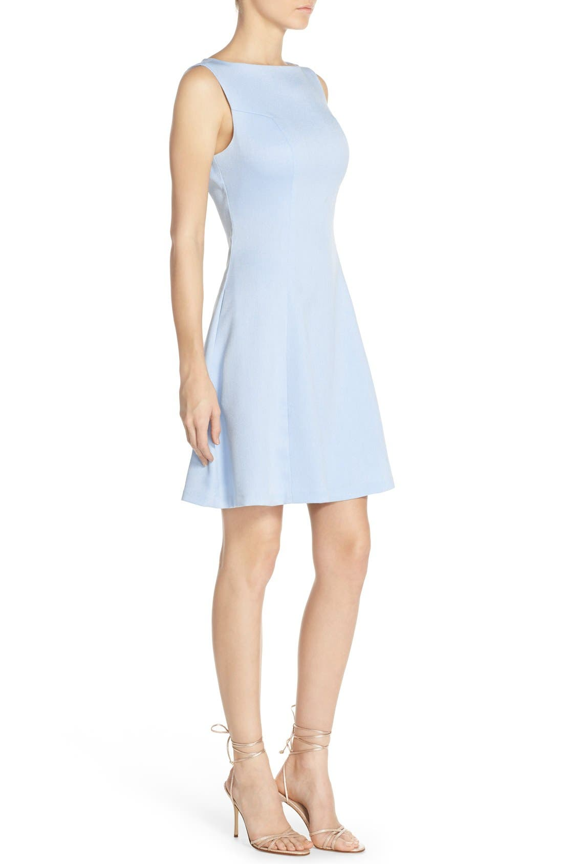 Alternate Image 3  - Chelsea28 Woven Fit & Flare Dress