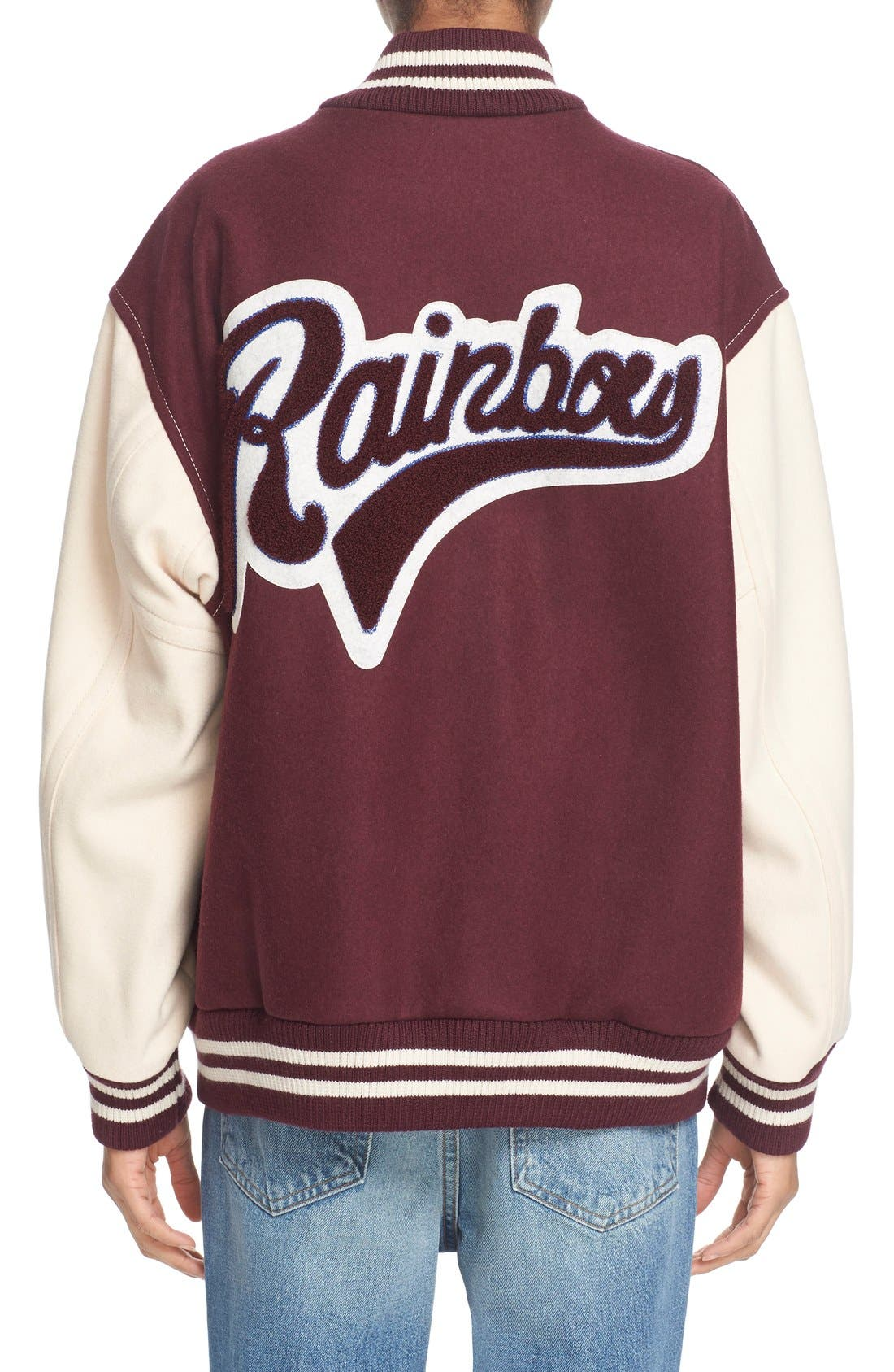 Alternate Image 2  - MARC JACOBS Embellished Varsity Jacket
